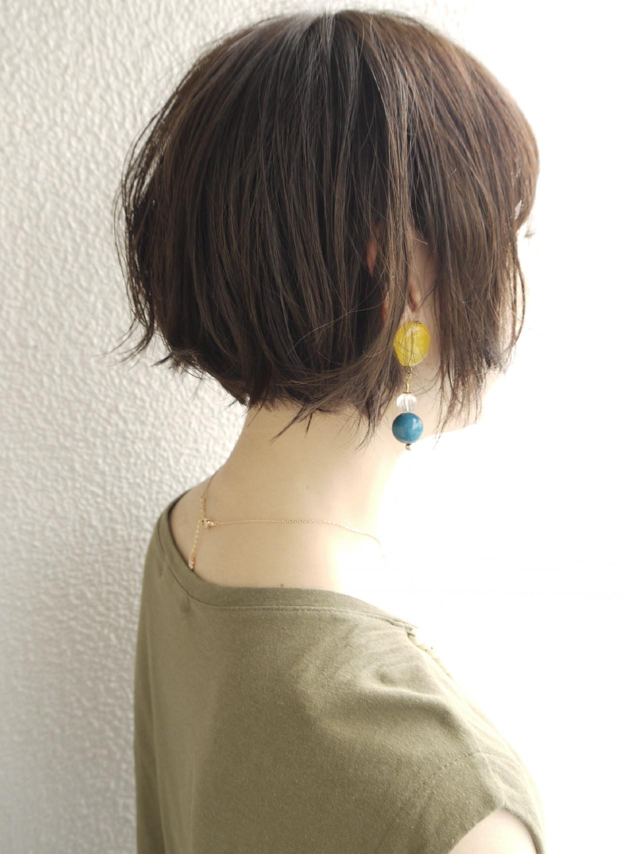 パーマ ボブ オフィス アッシュ ヘアスタイルや髪型の写真・画像   ムラマツ タケシ【morio原宿/成増】 / morio flom London