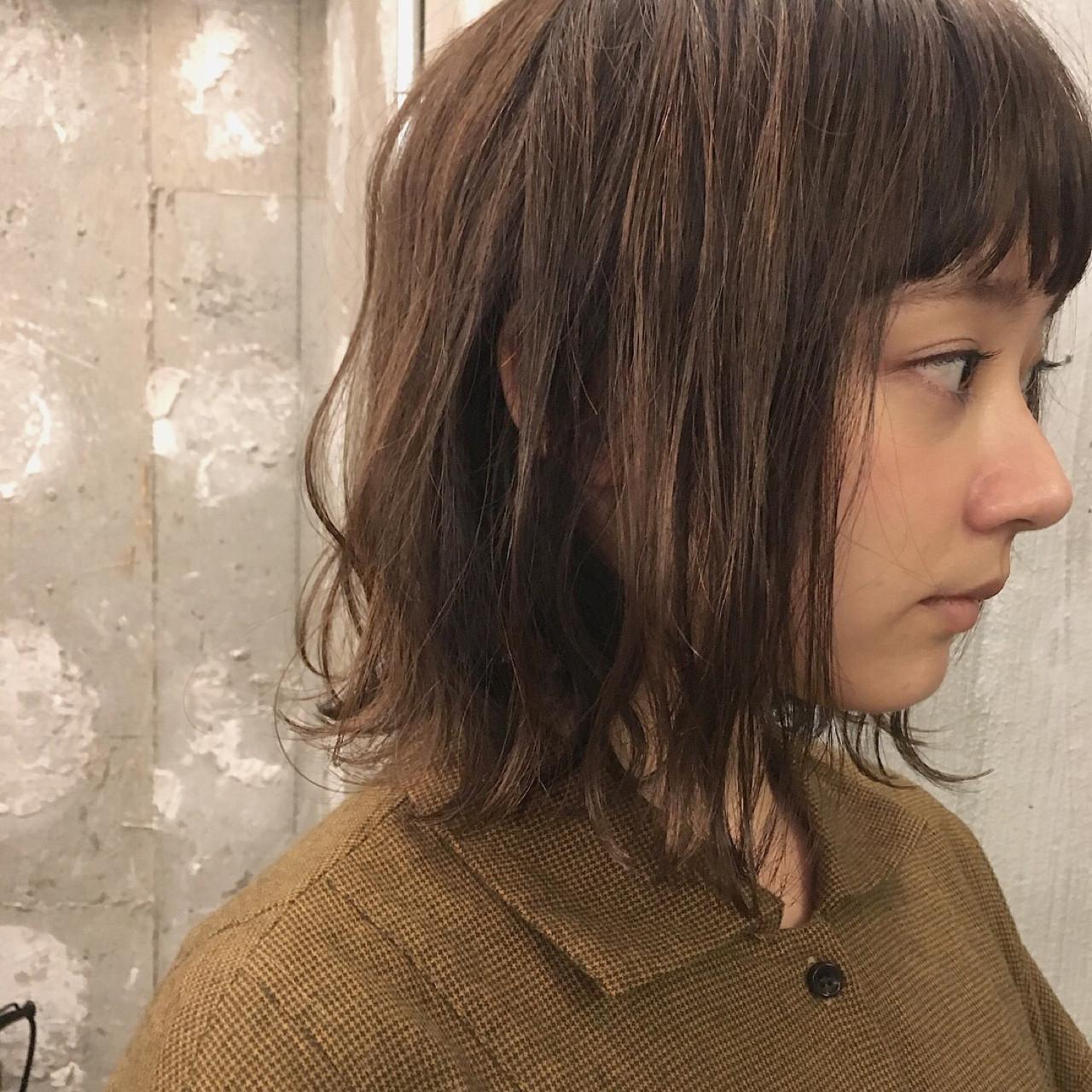オフィス デート ボブ 結婚式 ヘアスタイルや髪型の写真・画像 | 冨永 真太郎 / 人トナリ