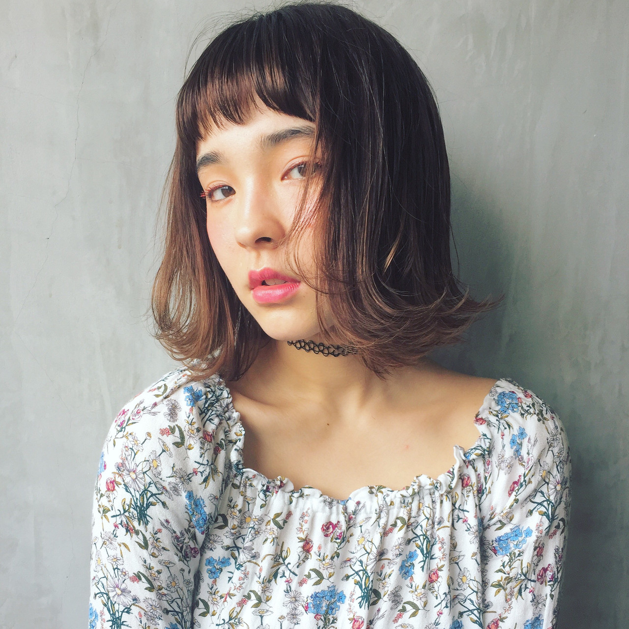 ガーリー 外ハネ ヘアアレンジ ハイライト ヘアスタイルや髪型の写真・画像 | 柴田 夏実 / ALBUM