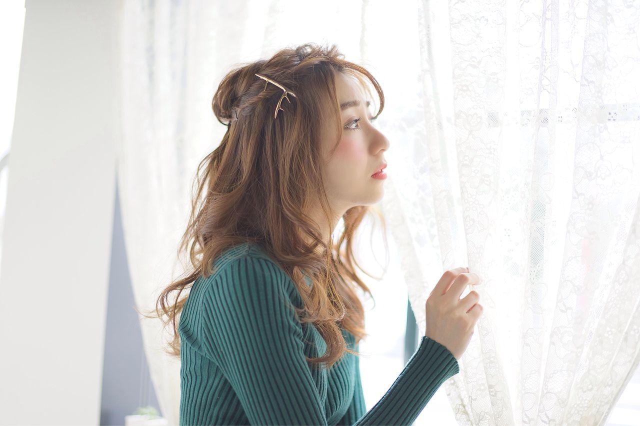 絶対可愛い人気ヘア!セミロング×パーマでモテ女子に変身しよう 村松彩