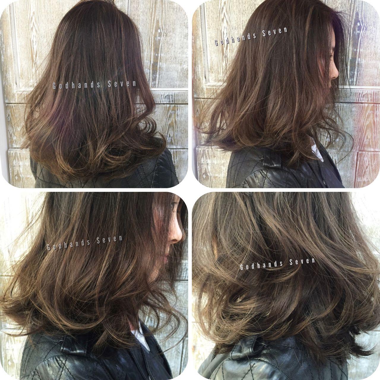 ウェットヘア ストリート ショート 暗髪ヘアスタイルや髪型の写真・画像