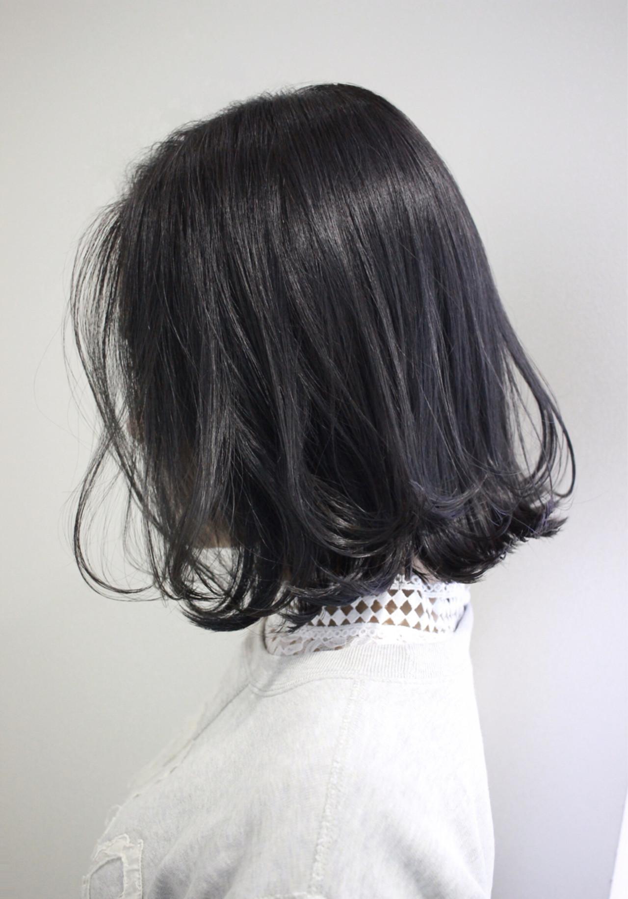 外国人風カラー ボブ イルミナカラー グレージュヘアスタイルや髪型の写真・画像