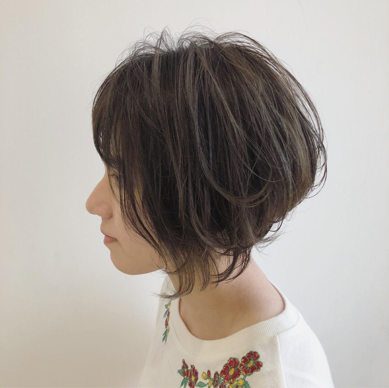 ゆるふわ 外国人風 ボブ ナチュラル ヘアスタイルや髪型の写真・画像 | Yuuta Asato / Moana by HEADLIGHT 沖縄東崎店