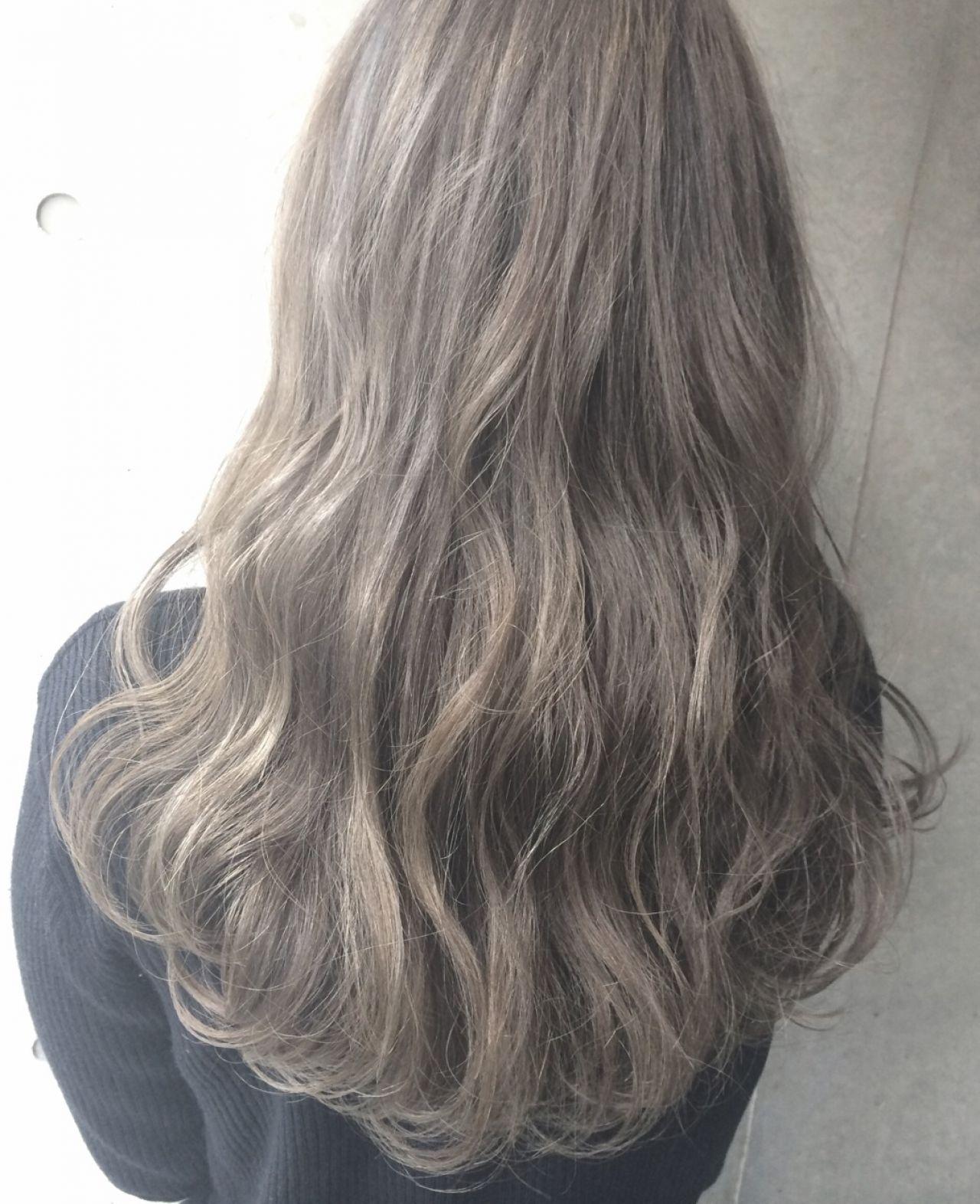 春 ロング パンク 外国人風 ヘアスタイルや髪型の写真・画像 | 米川光平/melgina(メルジーナ) / melgina(メルジーナ)