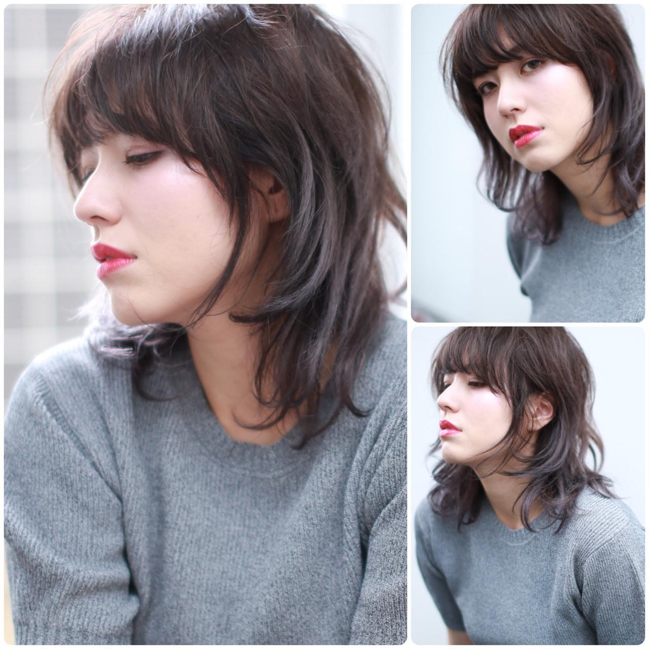 爽やか ウルフカット 外国人風カラー アンニュイ ヘアスタイルや髪型の写真・画像   イマムラ スナオ / LUKE