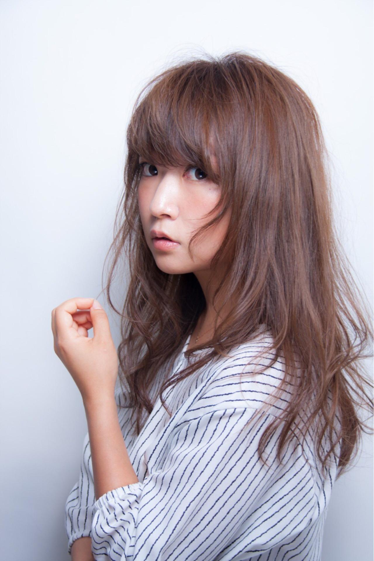 こなれ感 ウェーブ 小顔 セミロング ヘアスタイルや髪型の写真・画像 | 長岡 大偉 / salon de belle