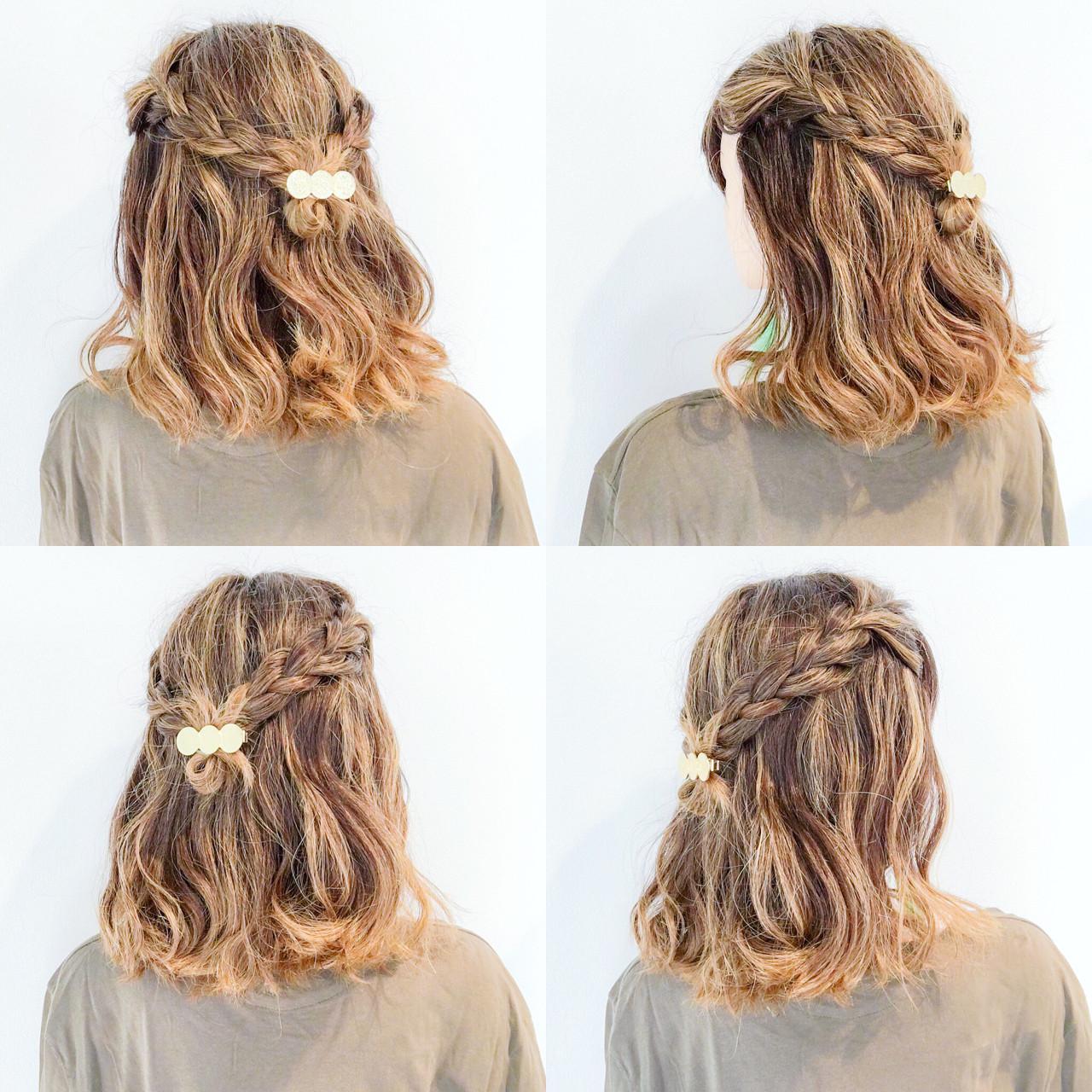 簡単ヘアアレンジ 色気 夏 フェミニン ヘアスタイルや髪型の写真・画像 | 美容師HIRO/Amoute代表 / Amoute/アムティ