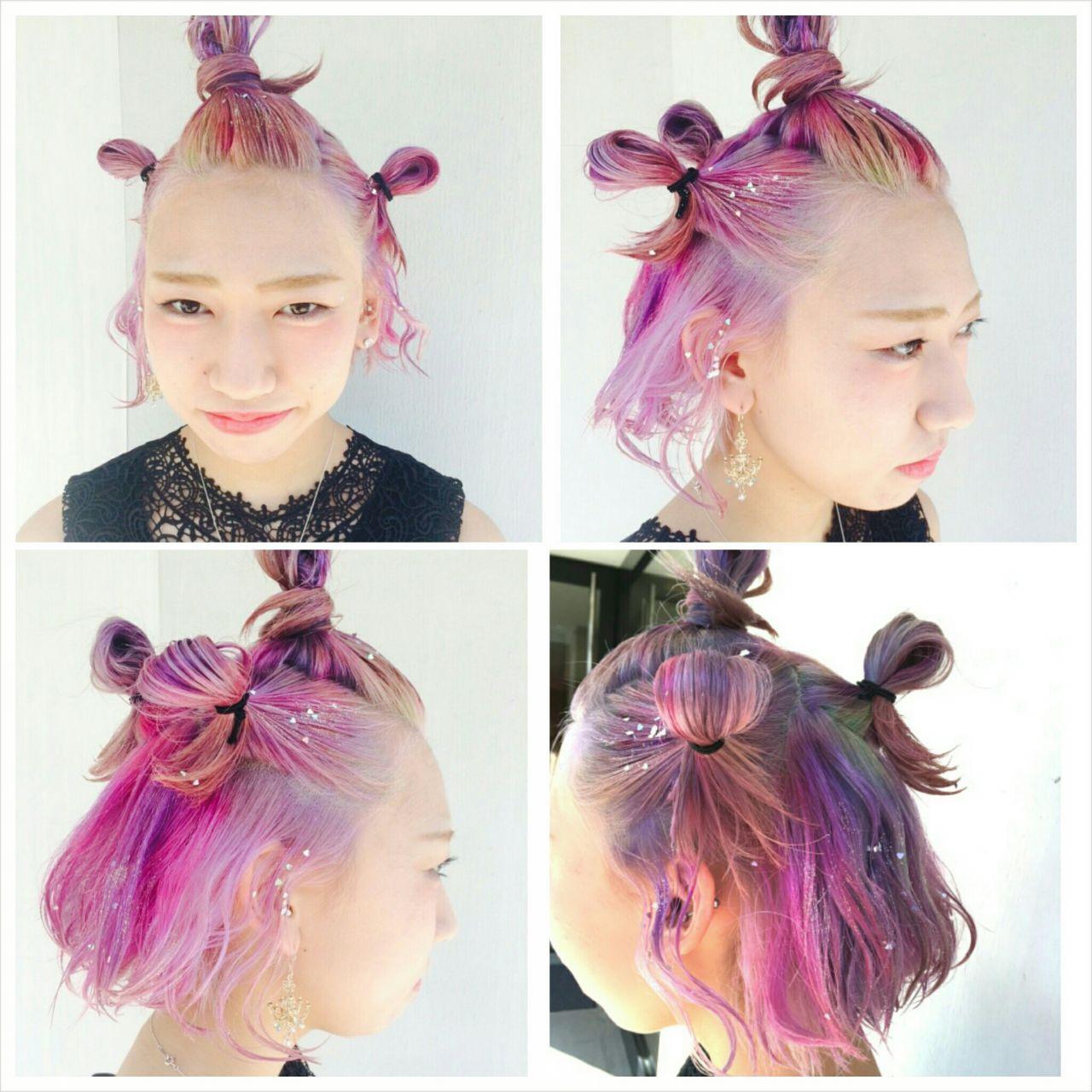 ストリート 春 パンク ボブ ヘアスタイルや髪型の写真・画像 | YOHEI(Di-KA HAIR) / Di-KA HAIR
