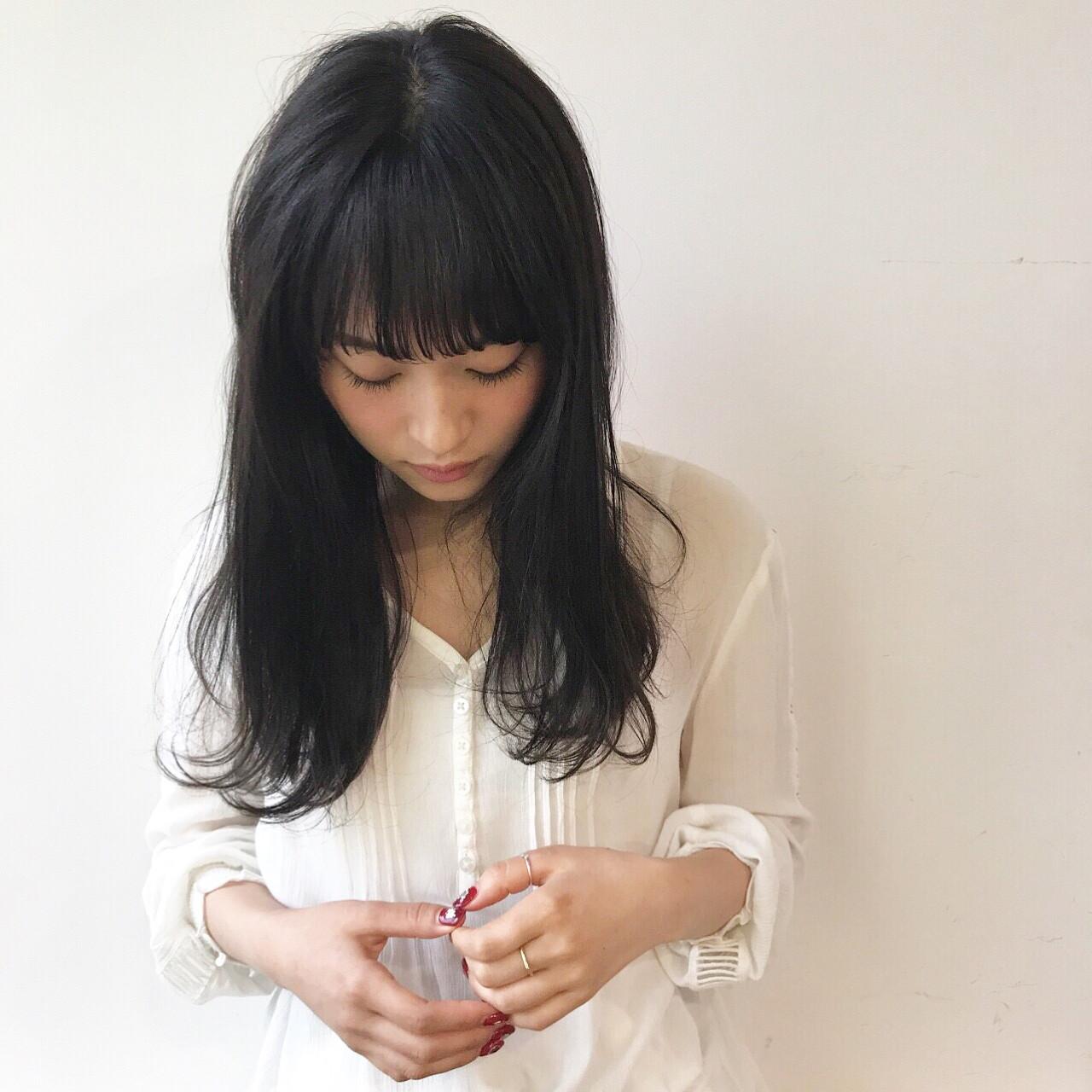 ナチュラル リラックス デート ミディアム ヘアスタイルや髪型の写真・画像 | 佐々木拓巳 / GARDEN harajuku
