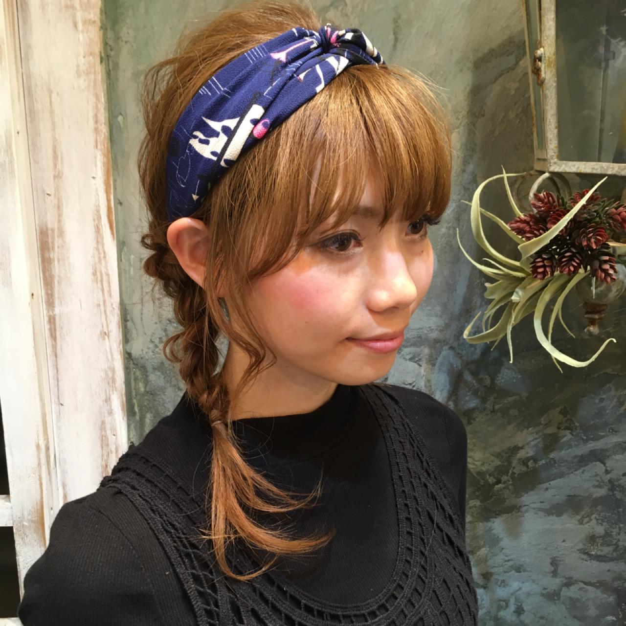 ショート ミディアム ヘアアレンジ ハーフアップ ヘアスタイルや髪型の写真・画像 | 西川 賢一 blast / blast