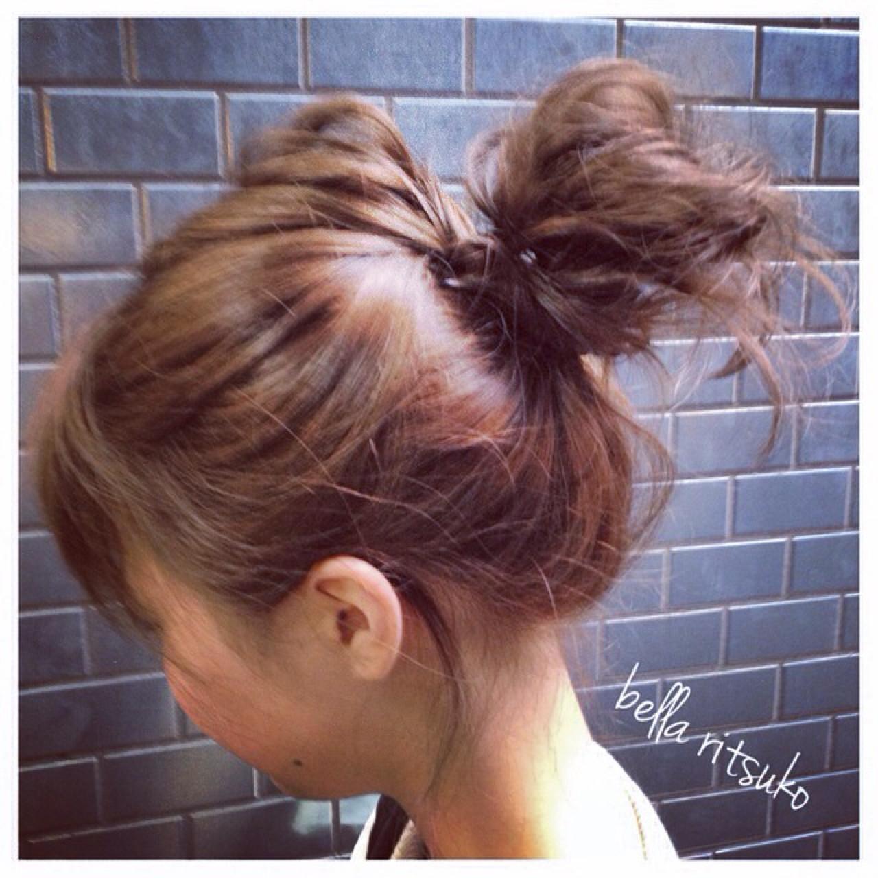 簡単ヘアアレンジ ショート 外国人風 ブルージュ ヘアスタイルや髪型の写真・画像 | 今永 律子 / adams bella