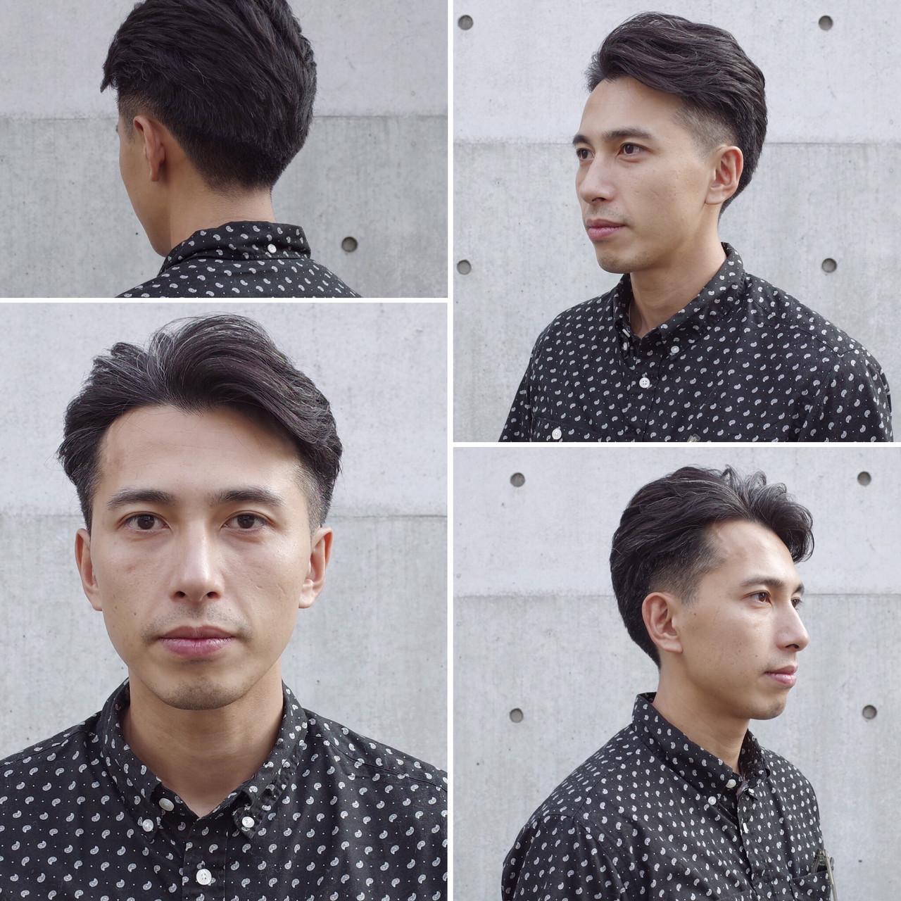 ツーブロック メンズ メンズショート ナチュラルヘアスタイルや髪型の写真・画像