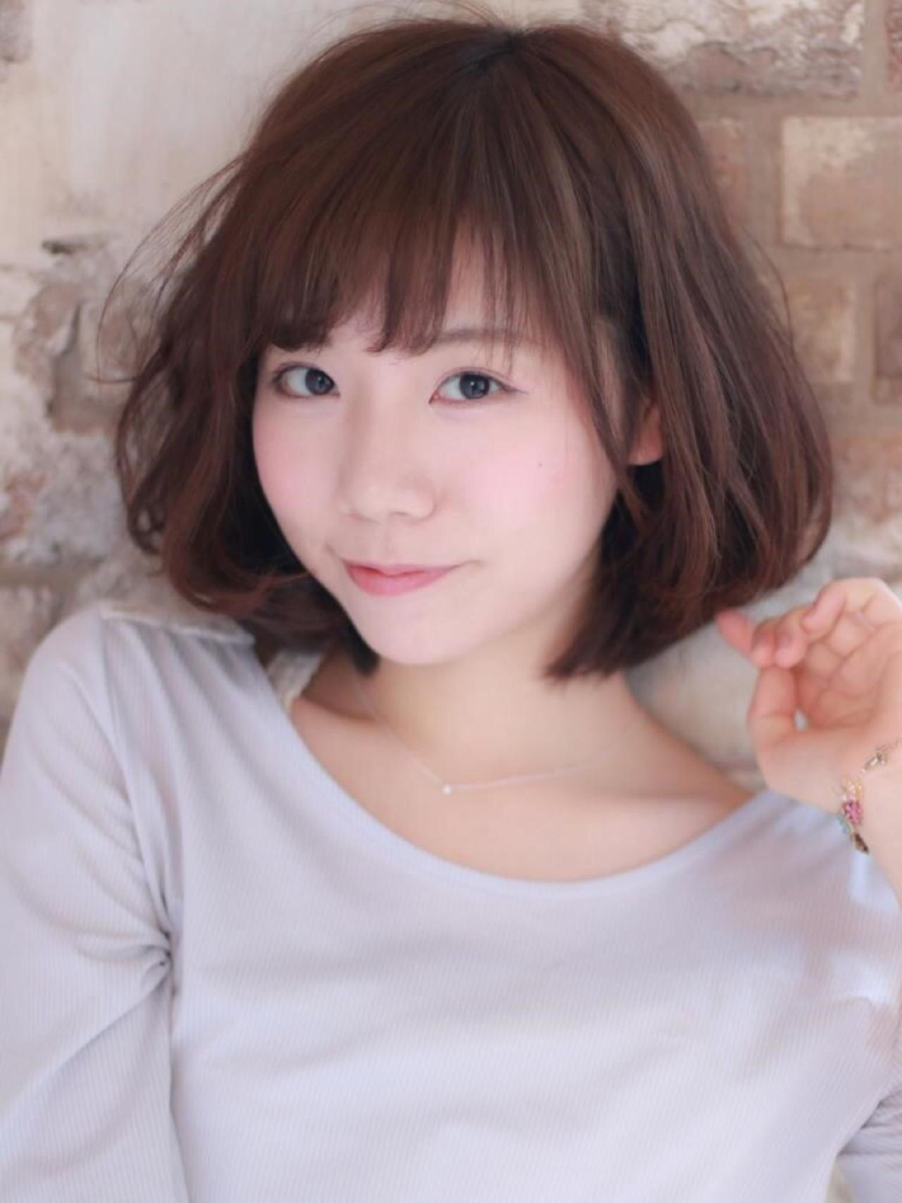 こなれ感 ナチュラル フェミニン 小顔 ヘアスタイルや髪型の写真・画像   risa /