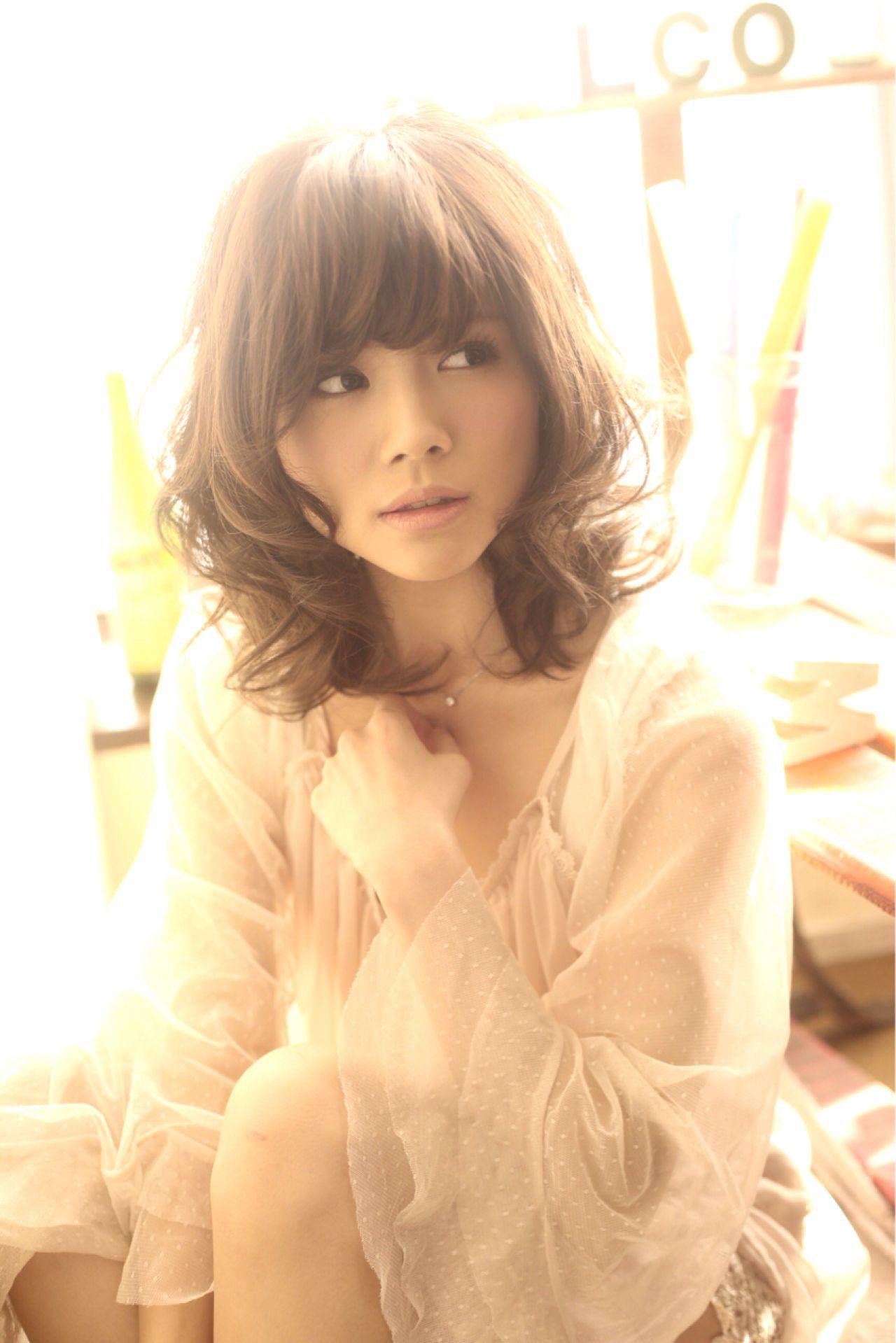 フェミニン 愛され 大人かわいい コンサバ ヘアスタイルや髪型の写真・画像 | 久保 慎太朗 / i:deal