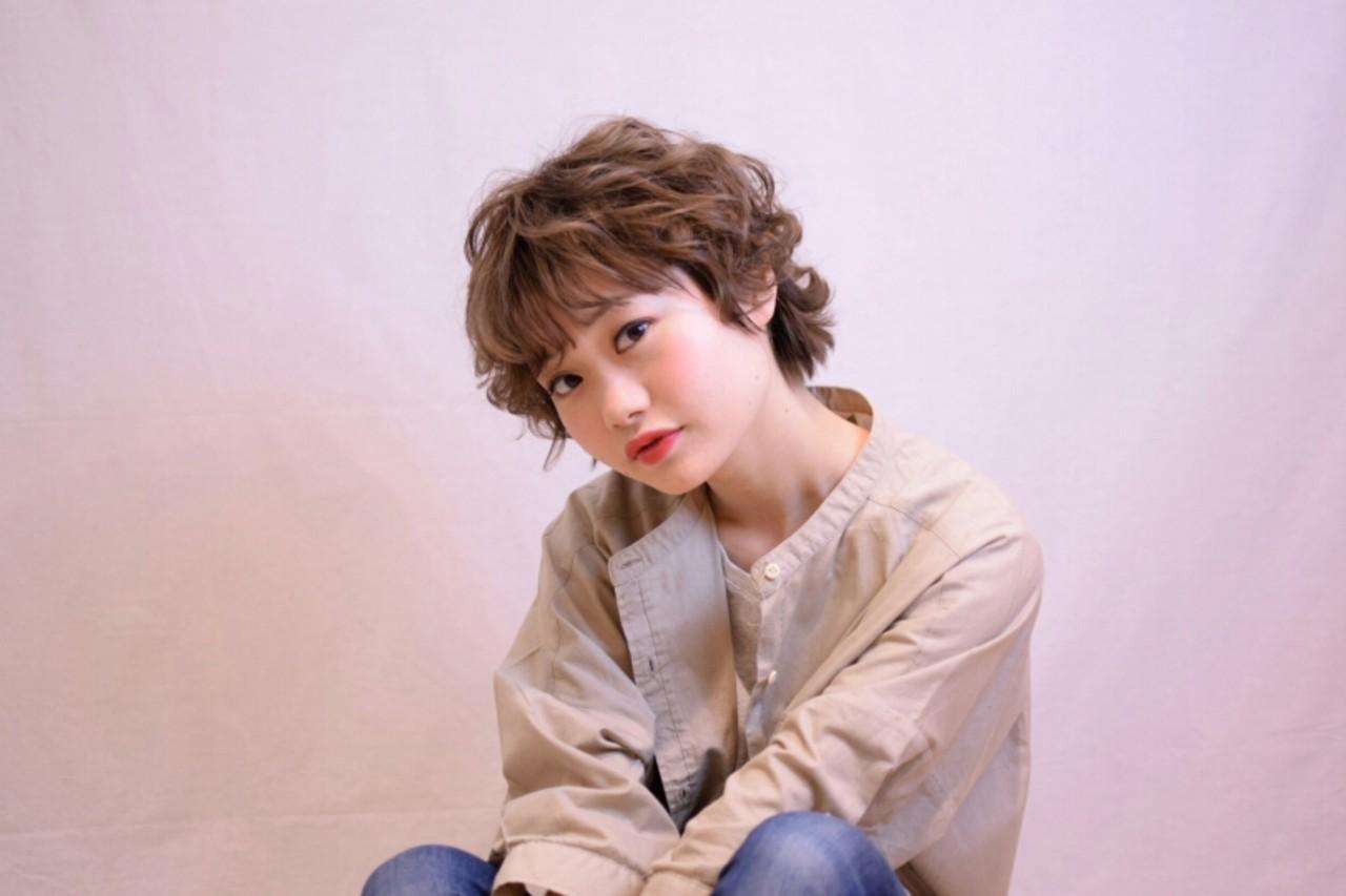 ゆるふわ ボブ 色気 ガーリー ヘアスタイルや髪型の写真・画像   菊地 浩太 / Cloe 中野