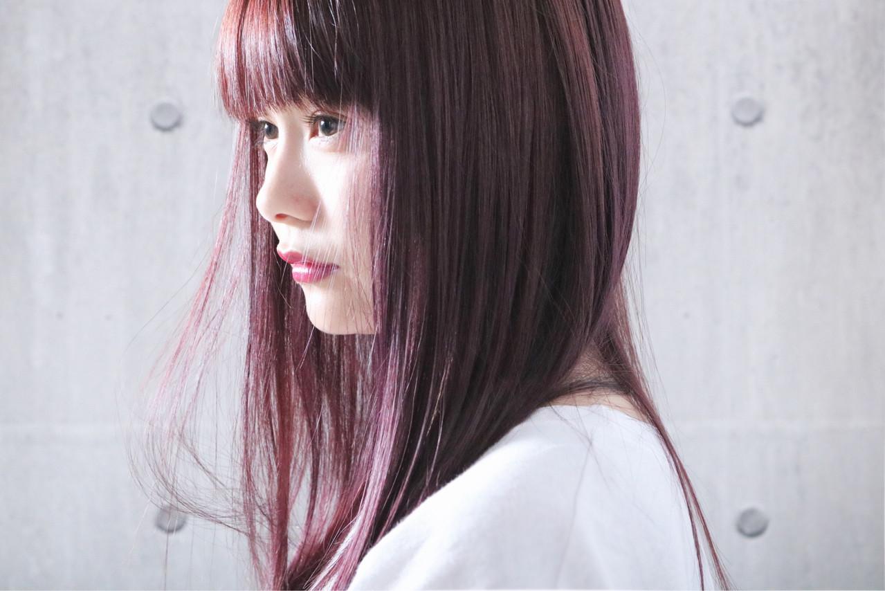 ピンクパープル ピンクアッシュ ピンクラベンダー ナチュラル ヘアスタイルや髪型の写真・画像 | 上田智久 / ooit 福岡 天神 / ooit