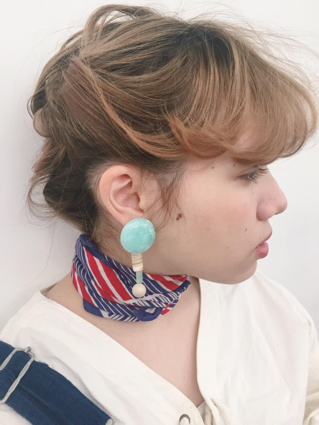 2016年春夏トレンド!スカーフ&チョーカー×ヘアスタイルで作れる簡単ファッションをご紹介☆ 山下 純平 / nanuk