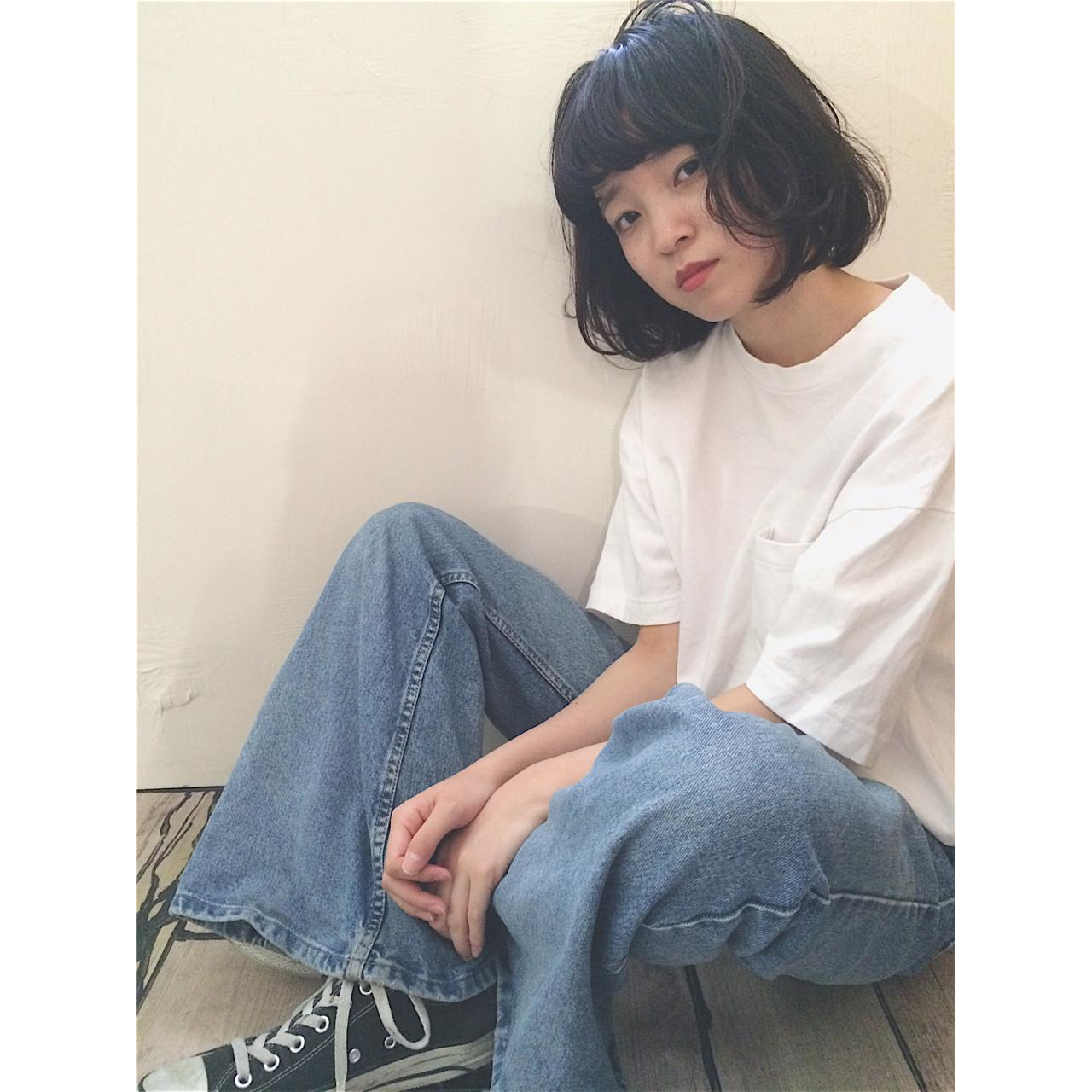 ストリート アッシュ グラデーションカラー 暗髪 ヘアスタイルや髪型の写真・画像 | NAOYA KARASAWA / krabät