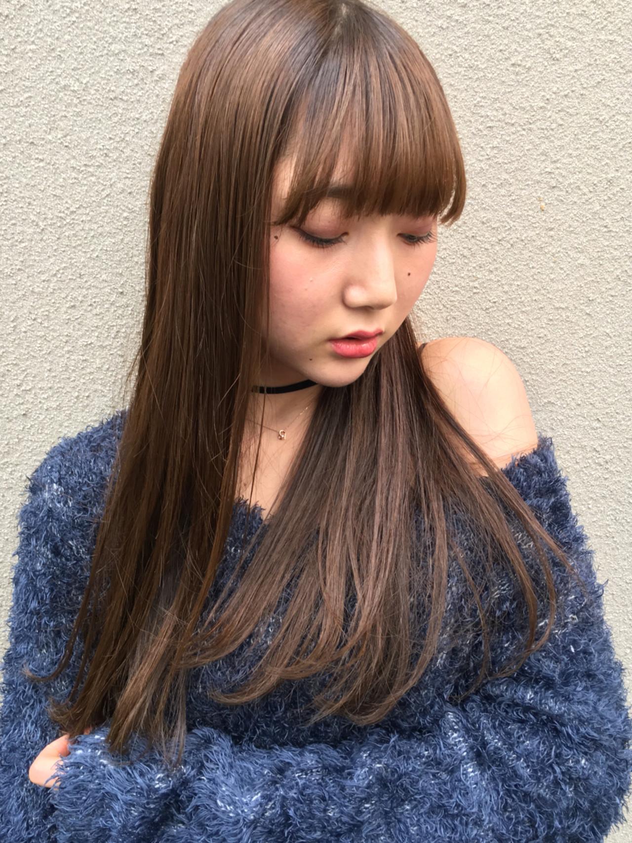 グレージュ 外国人風カラー アッシュ エレガント ヘアスタイルや髪型の写真・画像   マツイコウスケ / birre