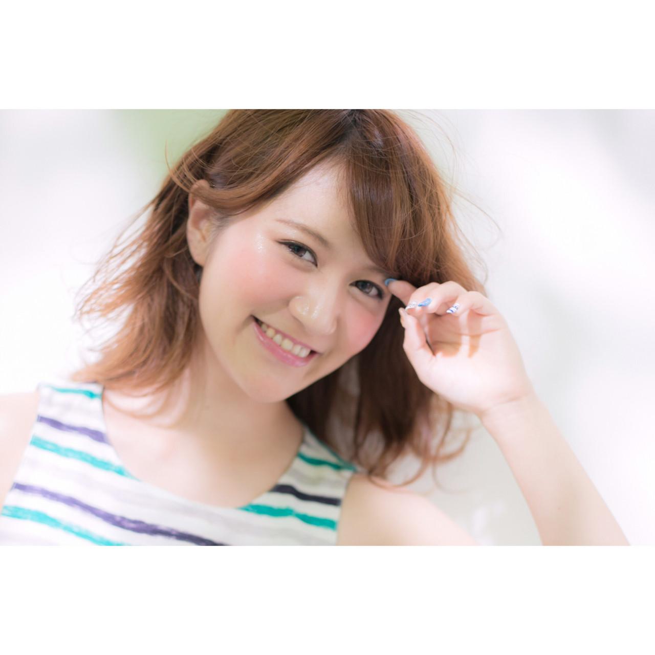 ゆるふわ 大人かわいい 外国人風 ナチュラル ヘアスタイルや髪型の写真・画像   植原健太 / Euphoria+n