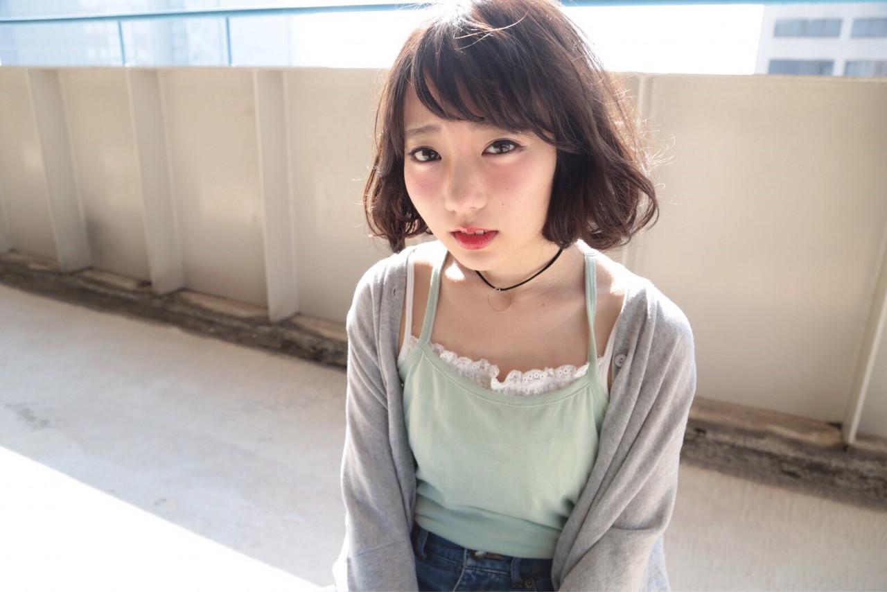 色気 マッシュ ショート ウルフカット ヘアスタイルや髪型の写真・画像 | riho /