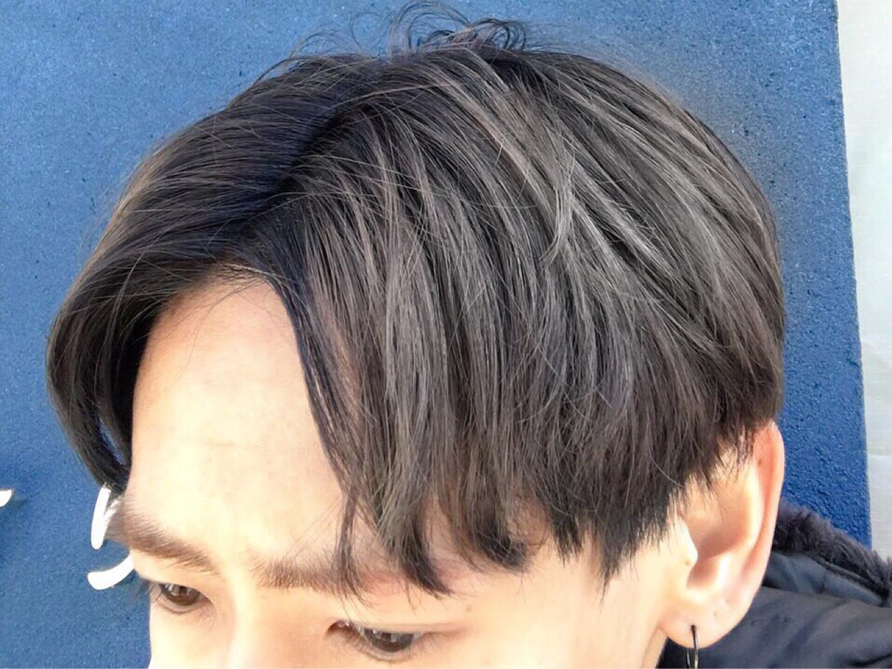 メンズ モード アッシュ グレージュ ヘアスタイルや髪型の写真・画像 | KEISUKE 【フリーパーソナルカラリスト】 / BellaDolce free-lance