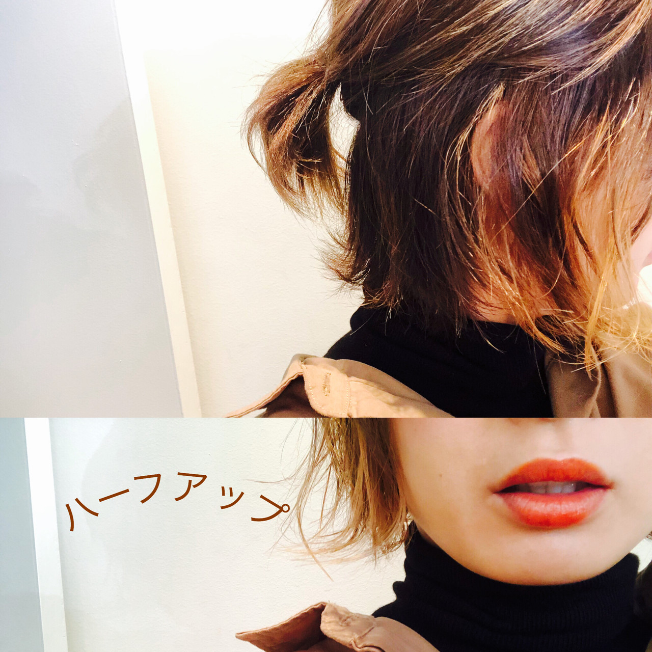 ナチュラル ヘアアレンジ ショート ハンサムショート ヘアスタイルや髪型の写真・画像 | 田中千枝子/大阪のショート・ボブ♡ / BELO  OSAKA(ベロ 大阪)