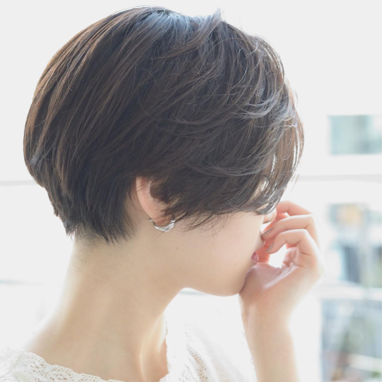 外国人風 ボブ 大人かわいい ナチュラルヘアスタイルや髪型の写真・画像