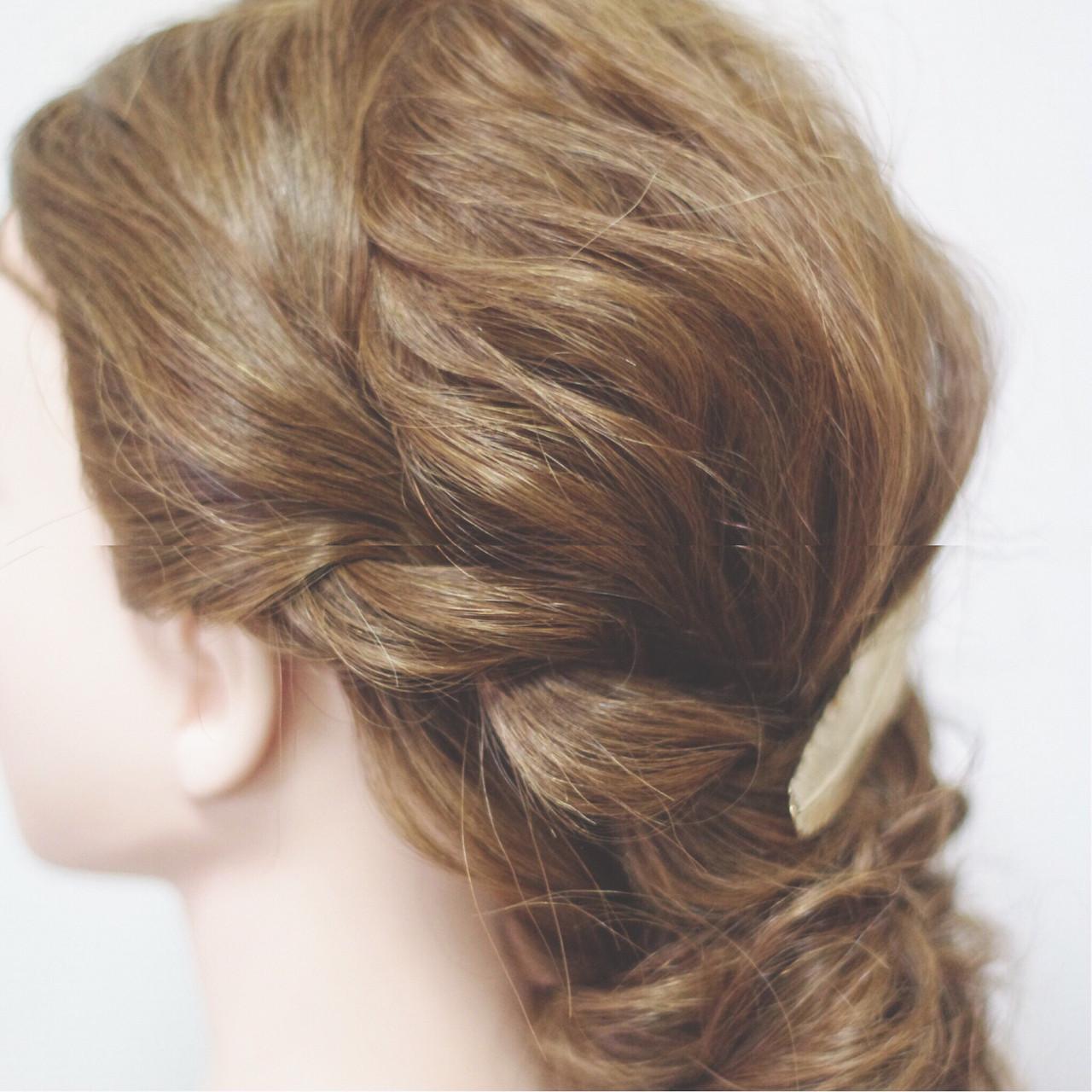 セミロング ナチュラル ヘアアレンジ ショートヘアスタイルや髪型の写真・画像