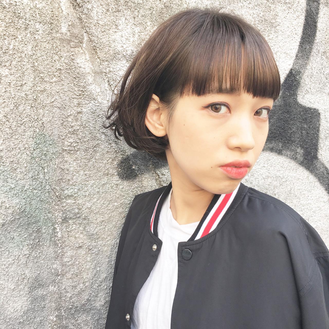 顔小さいね♡って言われたい!小顔効果のある髪型まとめ 永井 美菜子 bibito