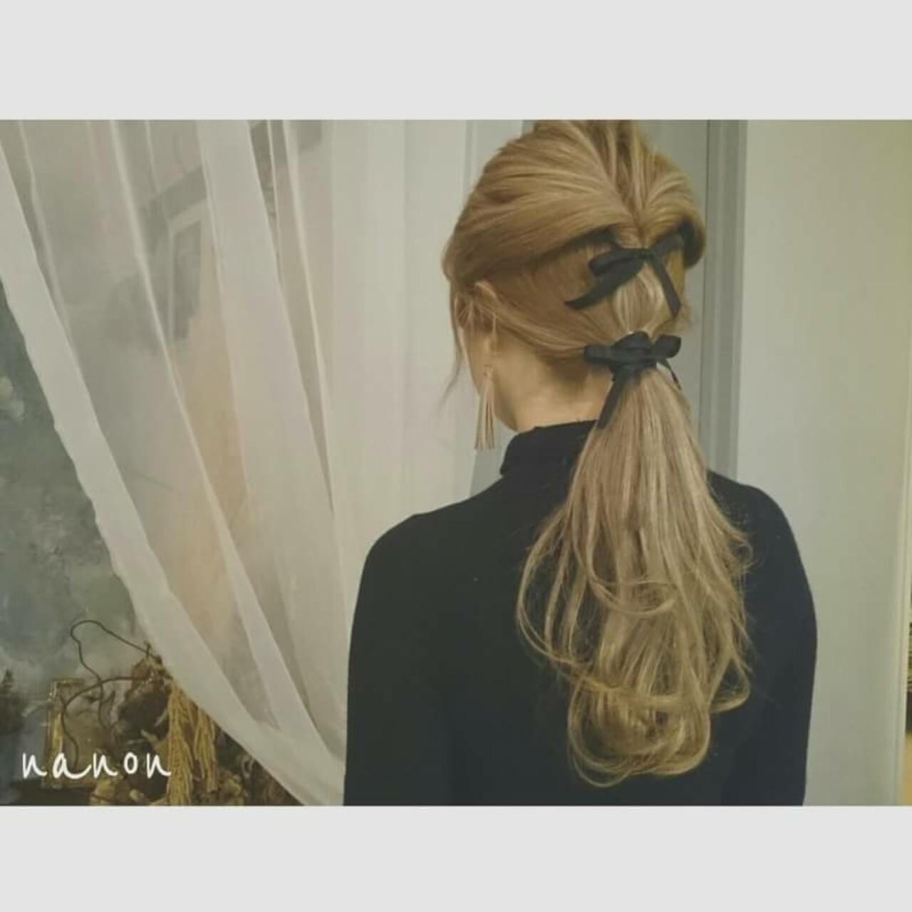 アウトドア ナチュラル デート ゆるふわ ヘアスタイルや髪型の写真・画像   浦川由起江 / nanon