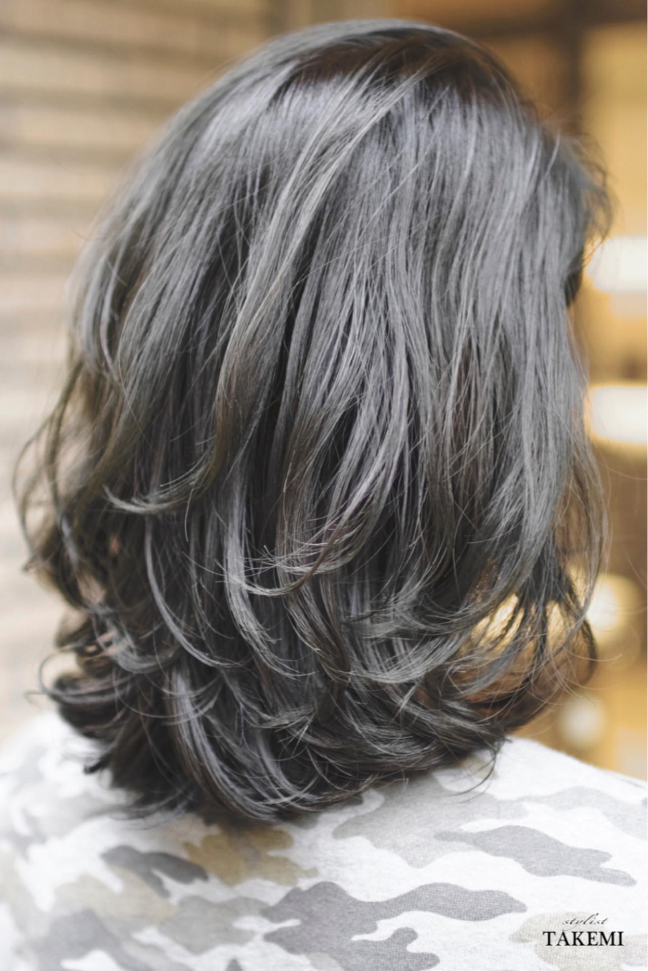 ハイライト ボブ ガーリー 外国人風 ヘアスタイルや髪型の写真・画像 | TAKEMI / BEBE 表参道