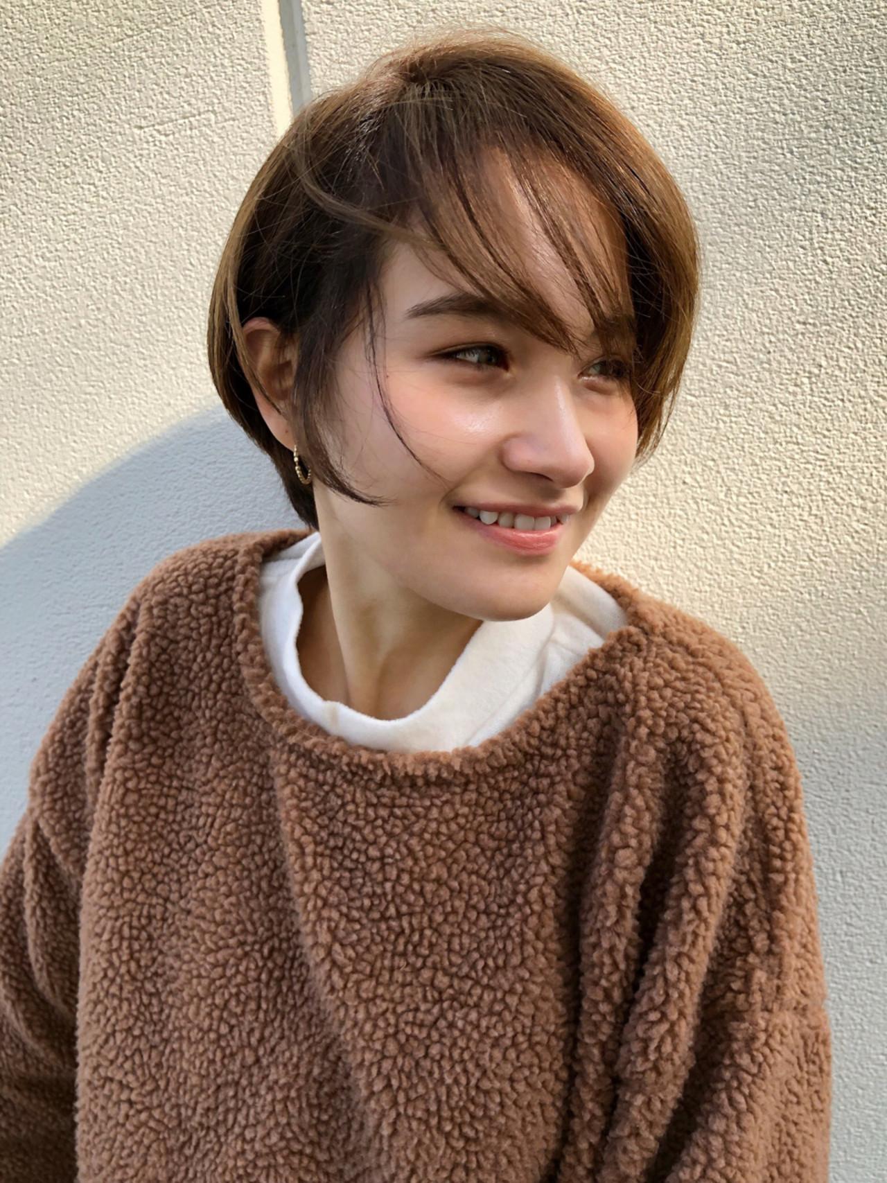 小顔 新垣結衣 ショート 色気 ヘアスタイルや髪型の写真・画像 | 今野佑哉 / GARDEN Tokyo