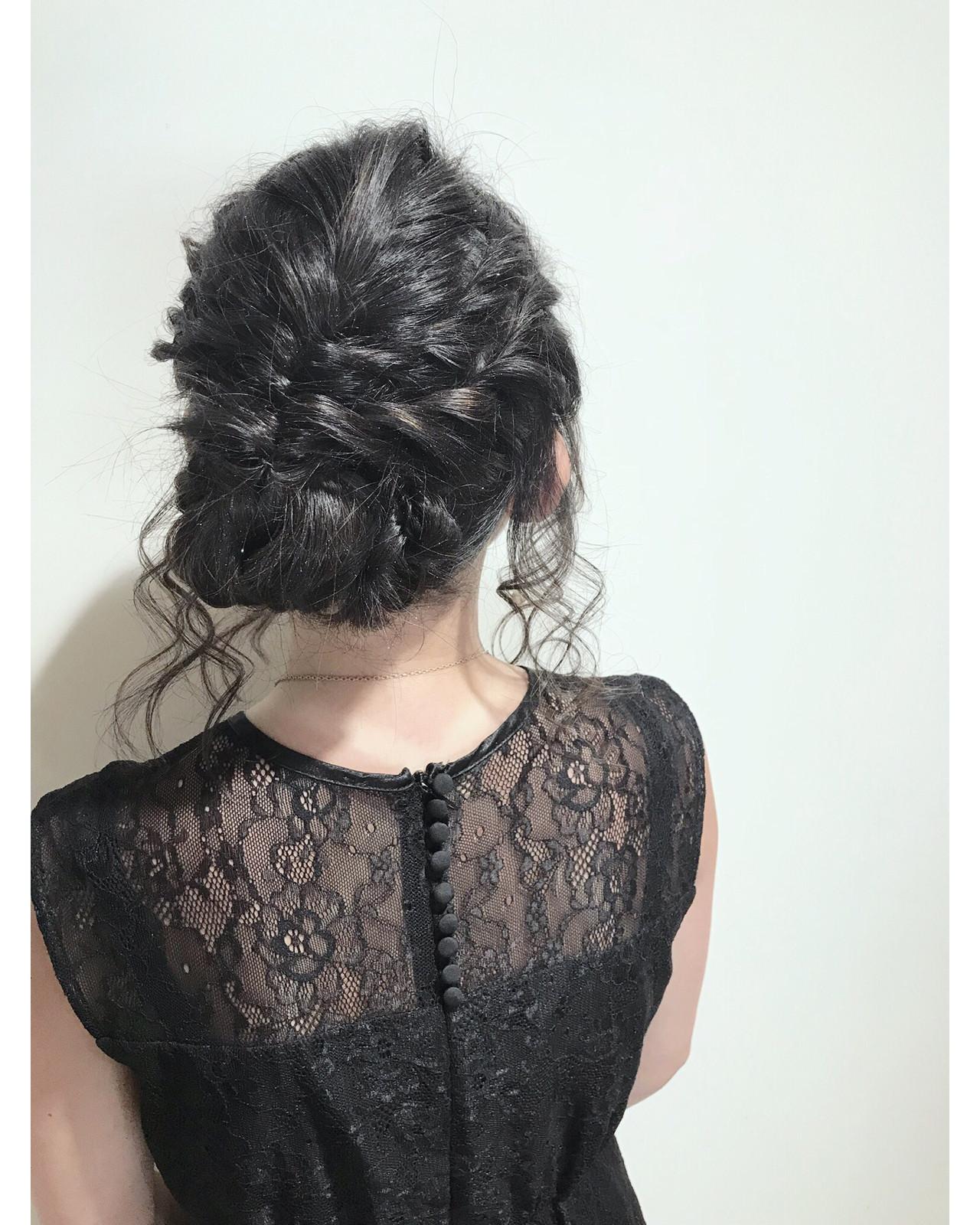 デート 結婚式 ナチュラル ヘアアレンジ ヘアスタイルや髪型の写真・画像 | Lee innocence 宮本伸一(shin) / Lee innocence 西宮北口店