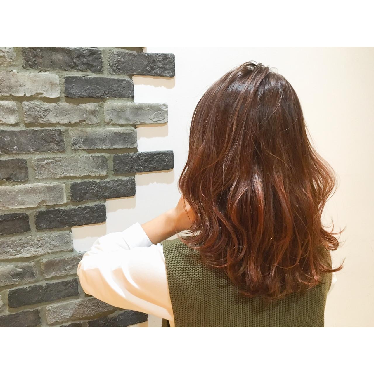 グラデーションカラー セミロング 外国人風 ストリート ヘアスタイルや髪型の写真・画像 | 斧江 和也 / ROOTS IRIE