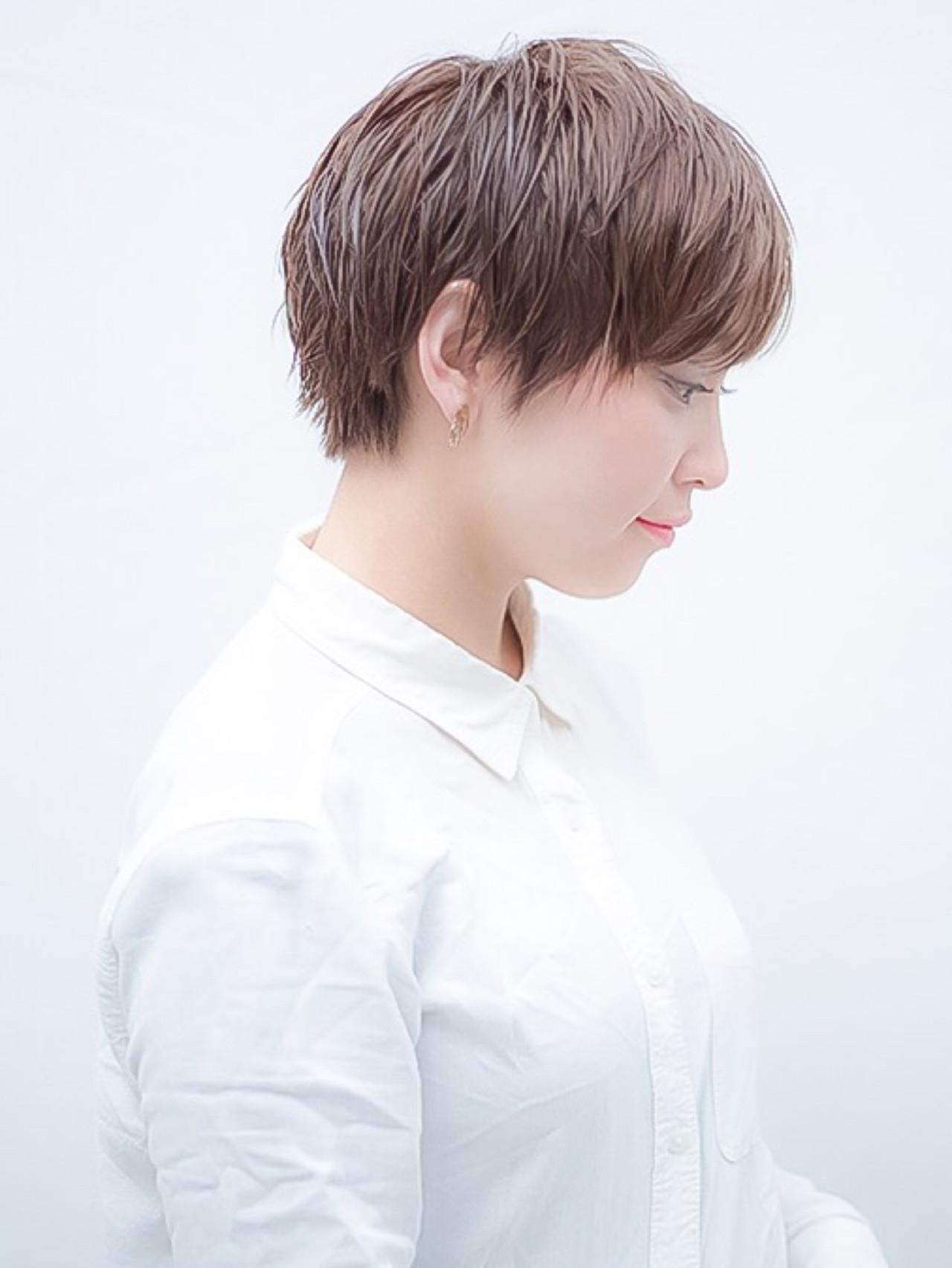 ジェンダーレス女子は中性的な髪型が決め手♡テイスト別にスタイル紹介! 花本 昇誉
