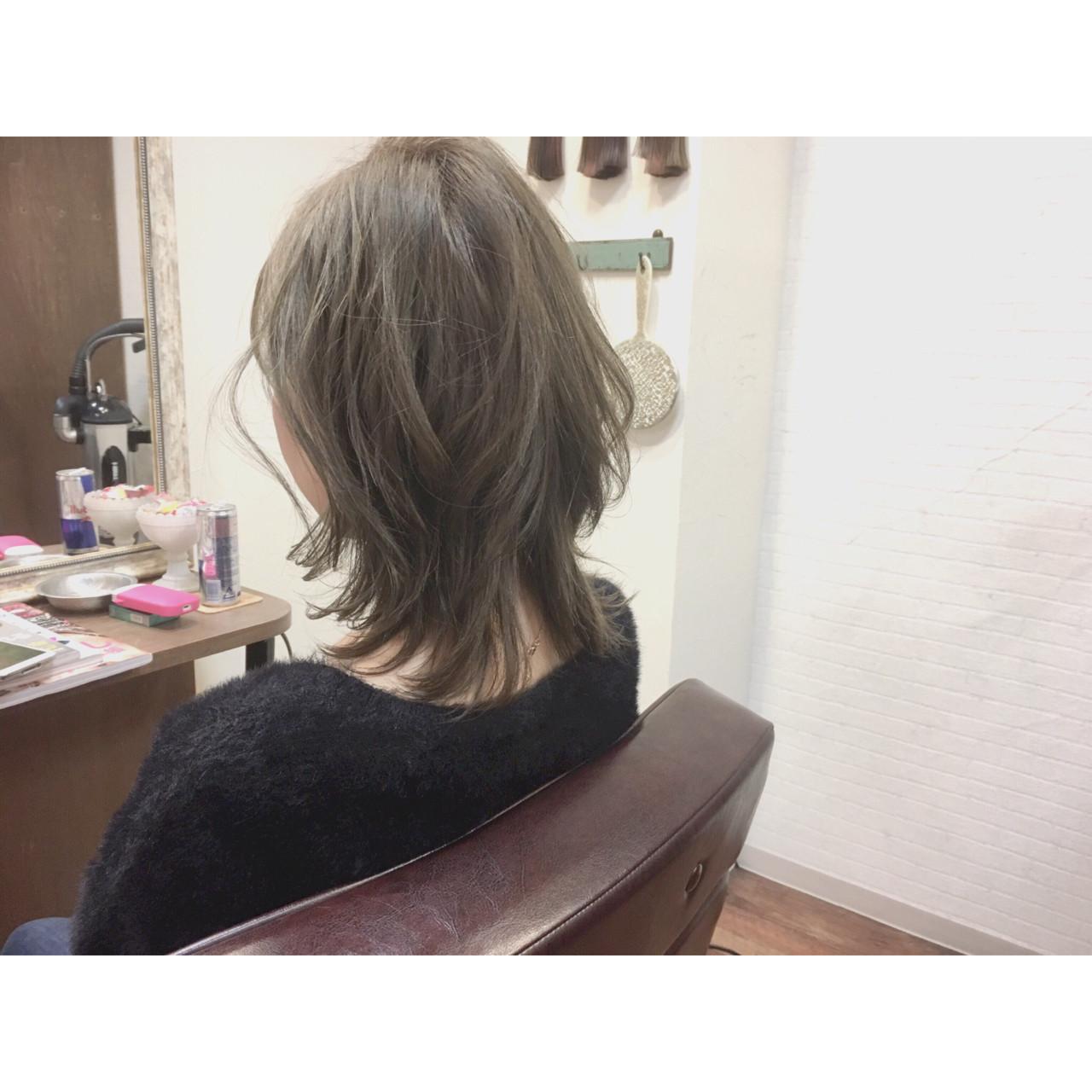 グレージュ 外国人風 アッシュ ハイライト ヘアスタイルや髪型の写真・画像 | 廣長 毅 / Lull/ vampdiva