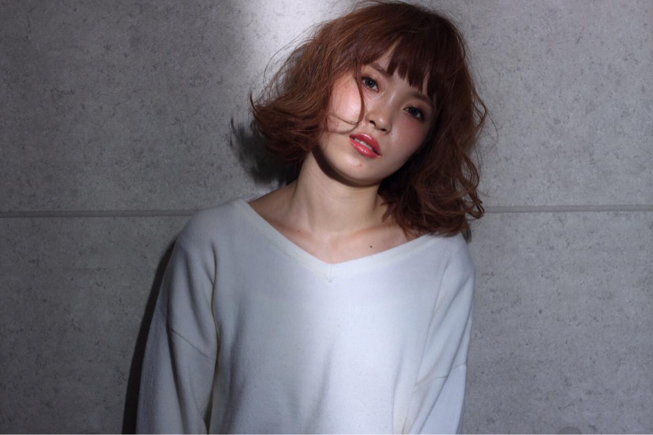 ゆるふわ フェミニン ボブ 大人女子 ヘアスタイルや髪型の写真・画像 | yuka /