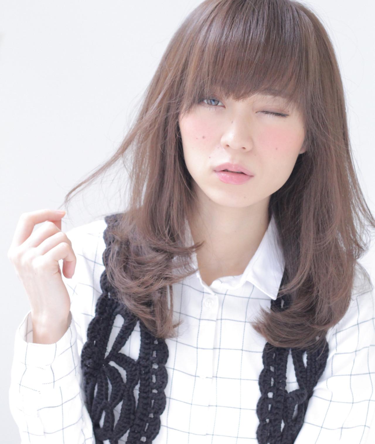 ゆるふわ ミディアム アッシュ 外国人風 ヘアスタイルや髪型の写真・画像 | 石田 学史 / DISHEL