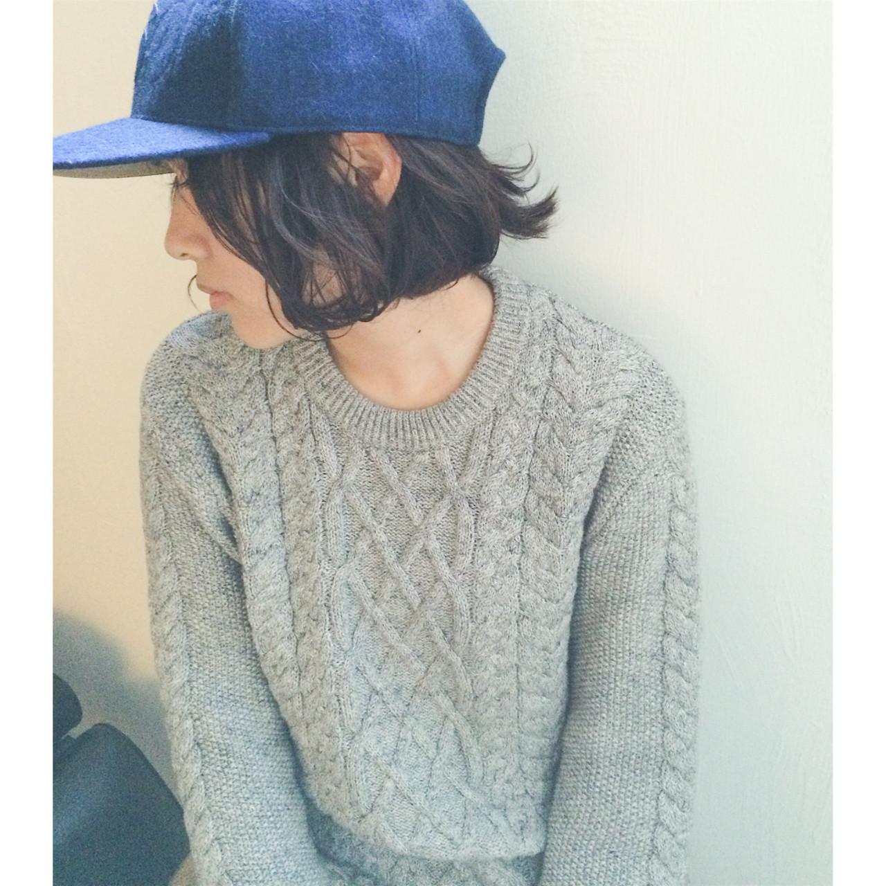 ストリート ヘアアレンジ 簡単ヘアアレンジ ショート ヘアスタイルや髪型の写真・画像 | NAOYA KARASAWA / krabät
