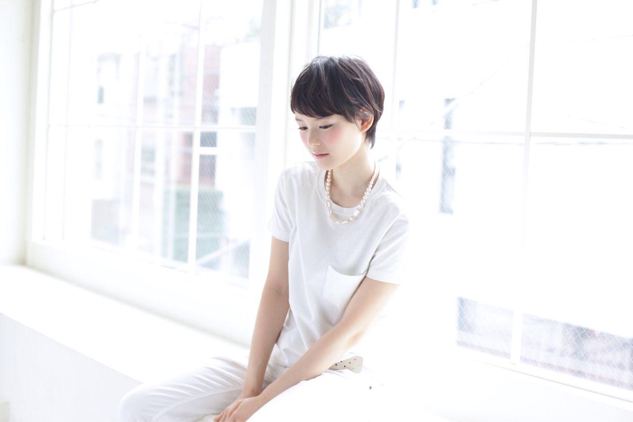 知らなかった?実はオンナ度が高い、魅惑の黒髪ベリーショート♡ 根岸 宏幸 / HOULe