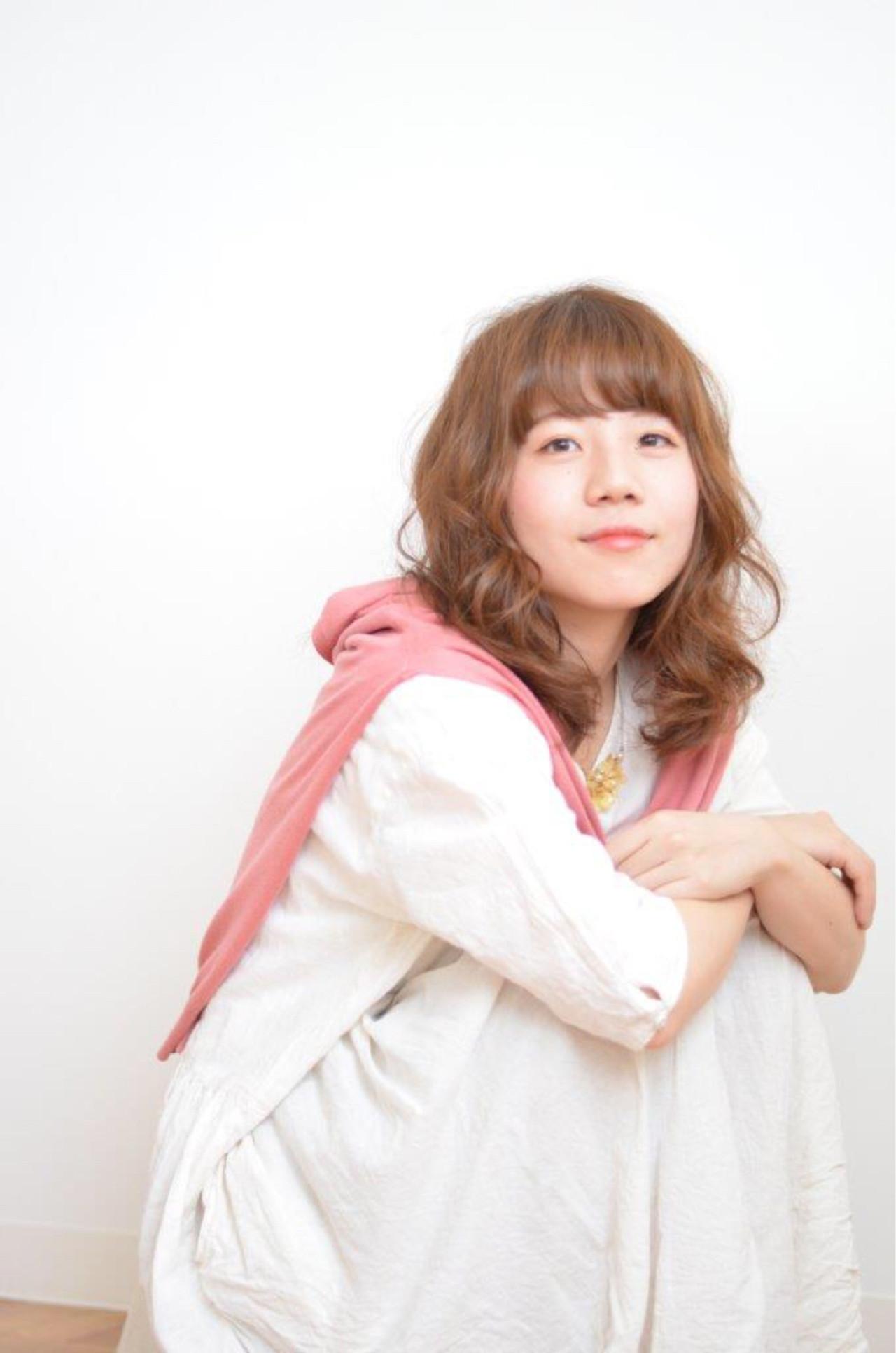 アッシュ ミディアム ナチュラル ピュア ヘアスタイルや髪型の写真・画像 | jun / atelier✂︎neru