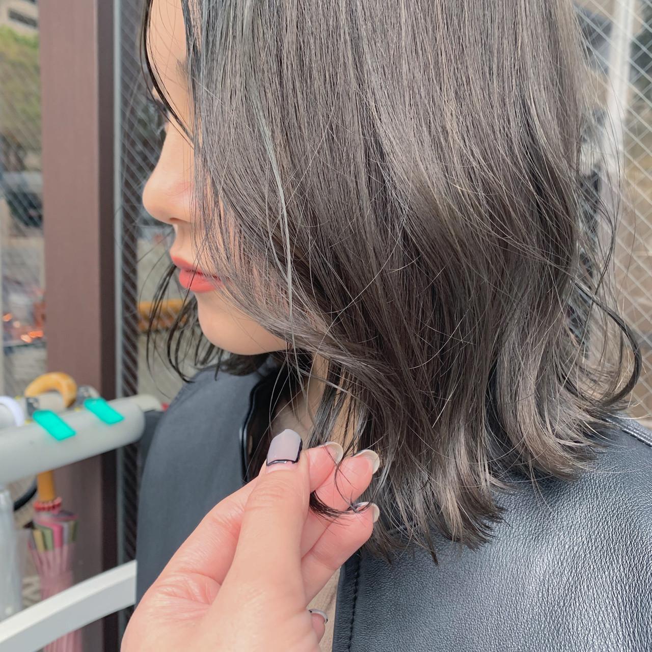 3Dハイライト 大人ハイライト ナチュラル ハイライト ヘアスタイルや髪型の写真・画像 | EMI <zest三鷹> / zest