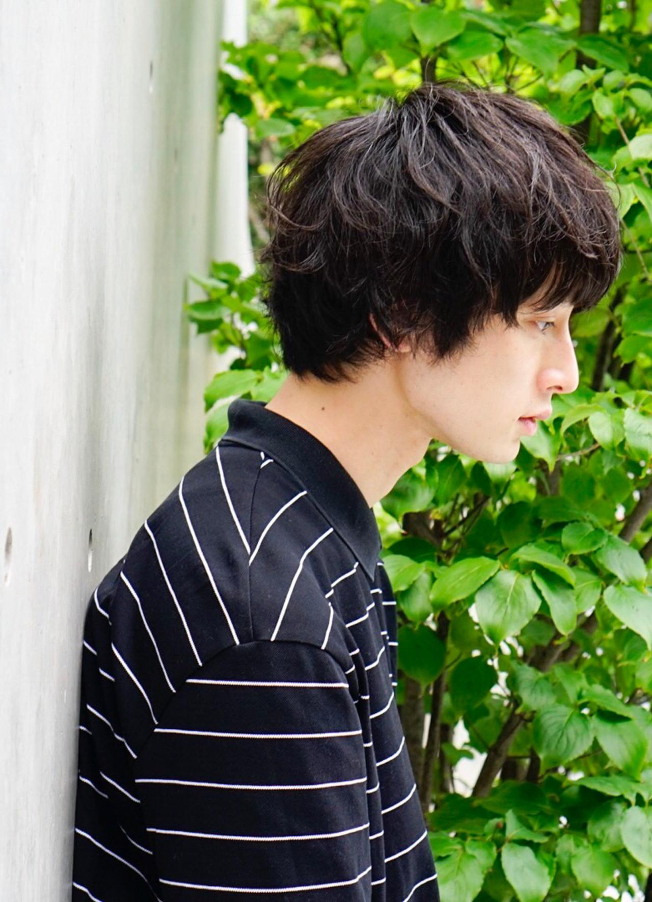 ショート ナチュラル メンズヘア マッシュヘア ヘアスタイルや髪型の写真・画像 | 豊島春華 / Gigi