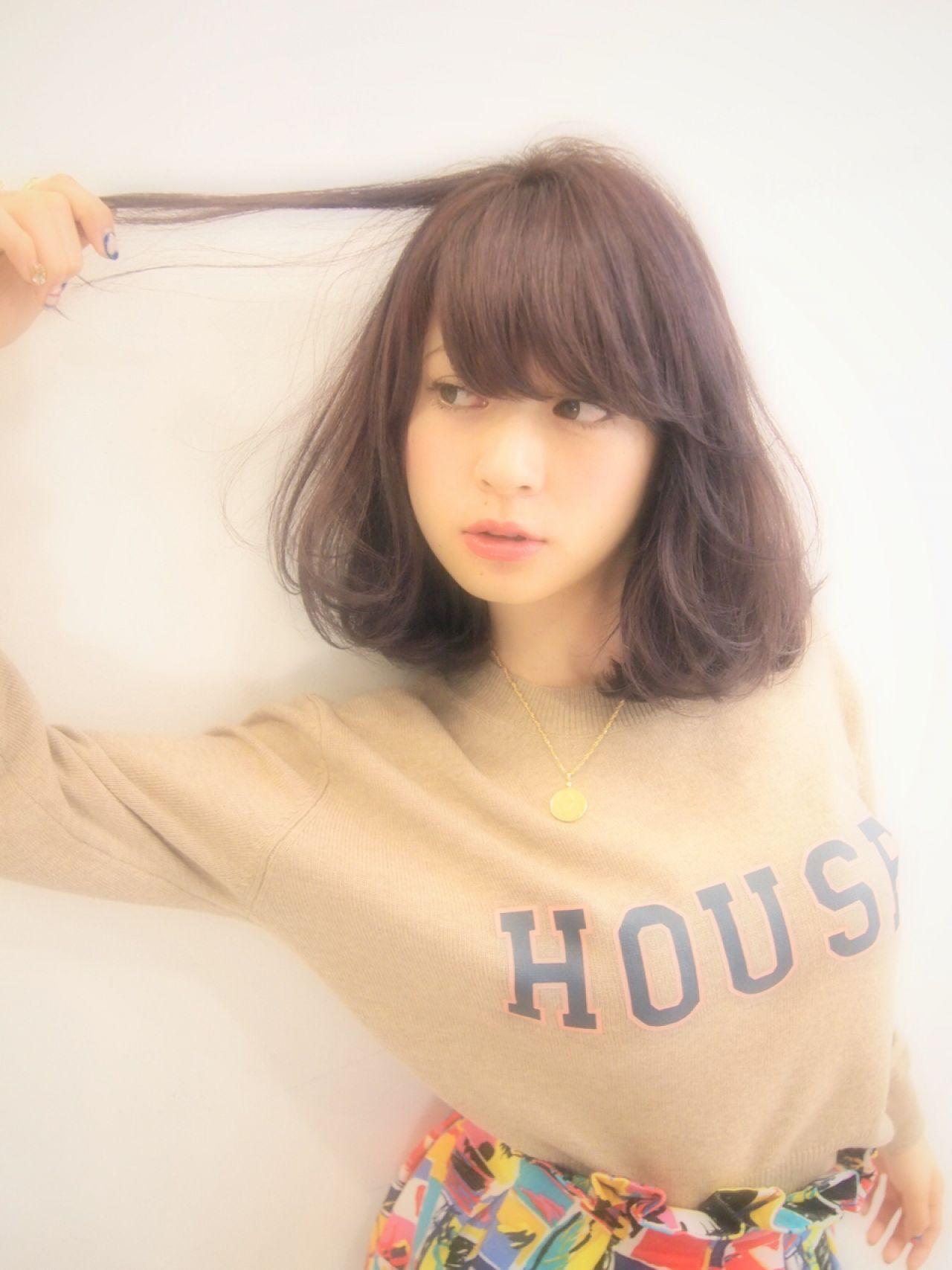 イマドキバング!ふんわり流し前髪で大人キュートをGET♡ MOTAI / SHIMA