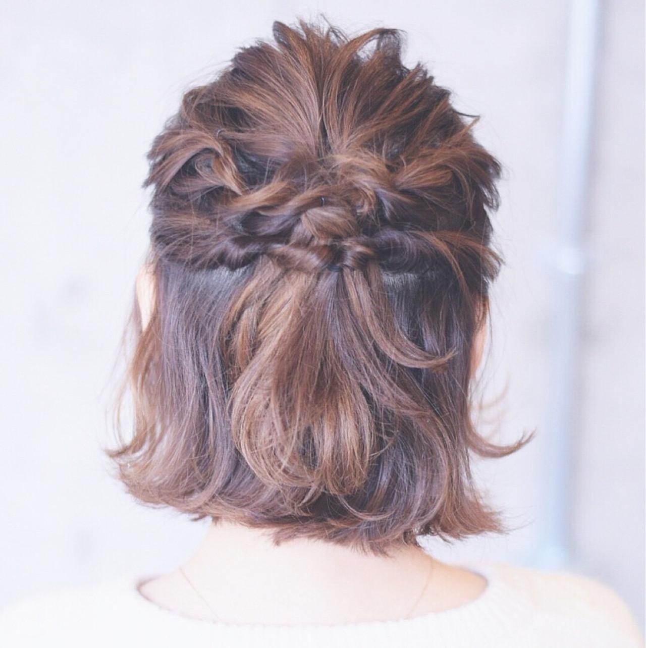 ヘアアレンジ 結婚式 こなれ感 大人女子ヘアスタイルや髪型の写真・画像