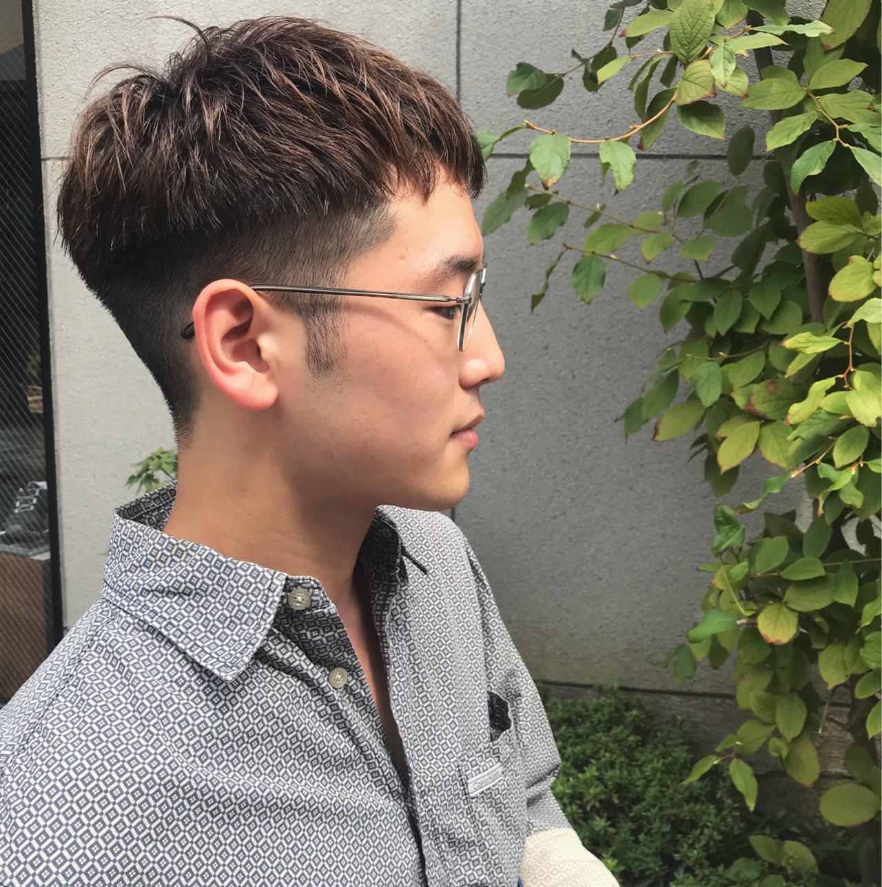 ボーイッシュ ストリート 坊主 刈り上げヘアスタイルや髪型の写真・画像