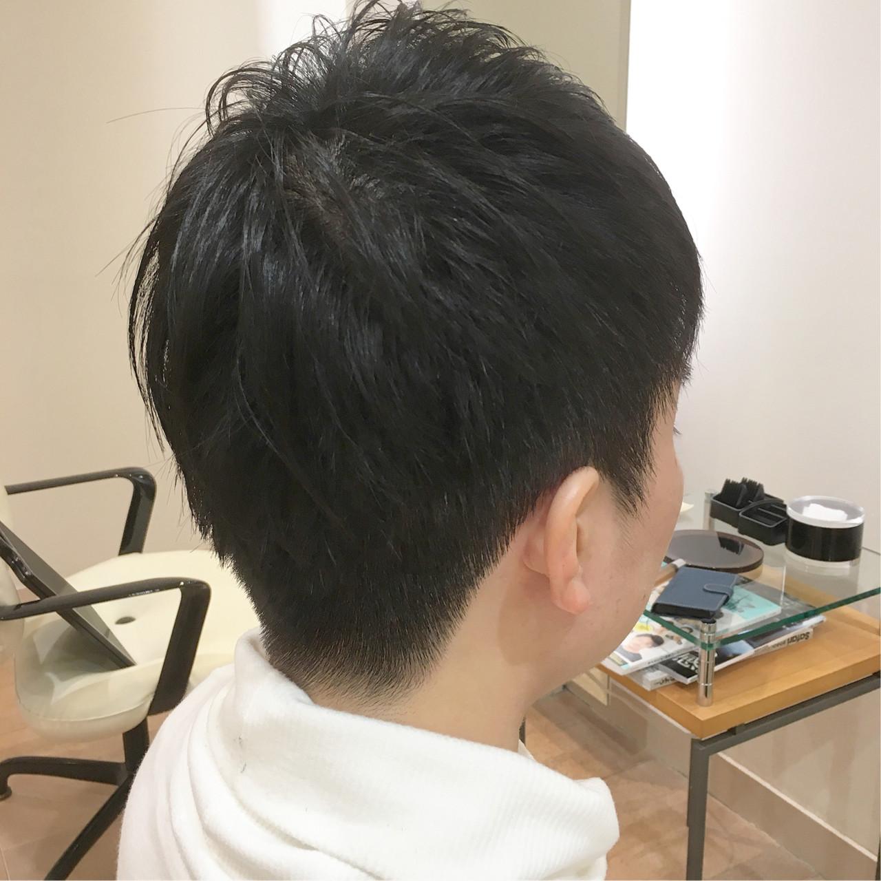 刈り上げ ナチュラル メンズ メンズカット ヘアスタイルや髪型の写真・画像 | 平本 詠一 / fabris