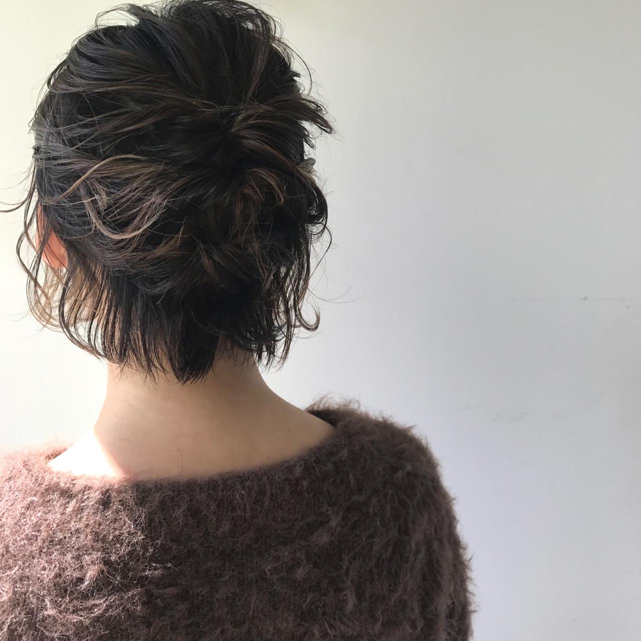 ボブ フリンジバング アッシュ インナーカラー ヘアスタイルや髪型の写真・画像 | 佐々木拓巳 / GARDEN harajuku
