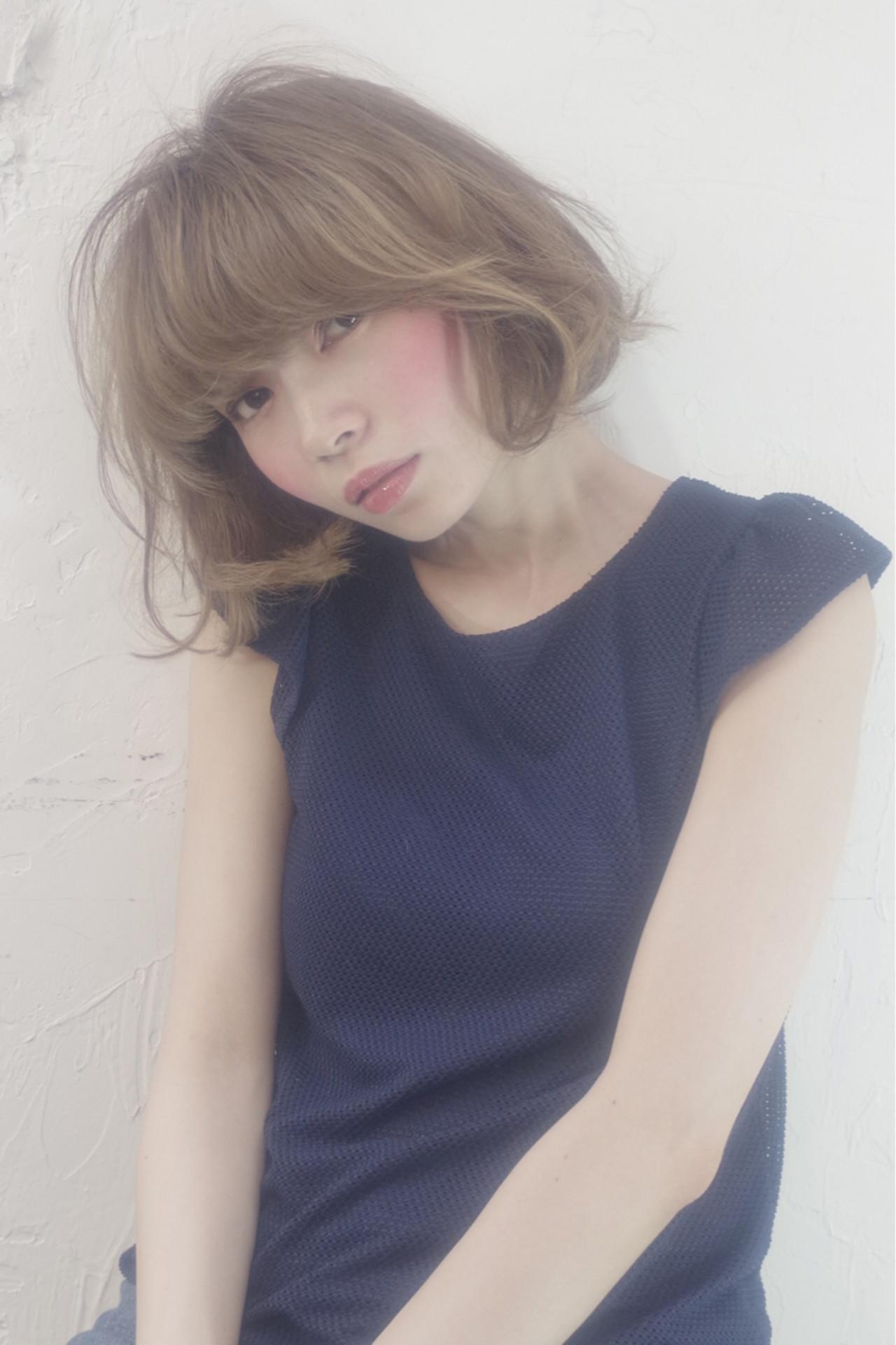 ピュア 大人かわいい ガーリー ゆるふわ ヘアスタイルや髪型の写真・画像 | 大谷江梨加 / blast